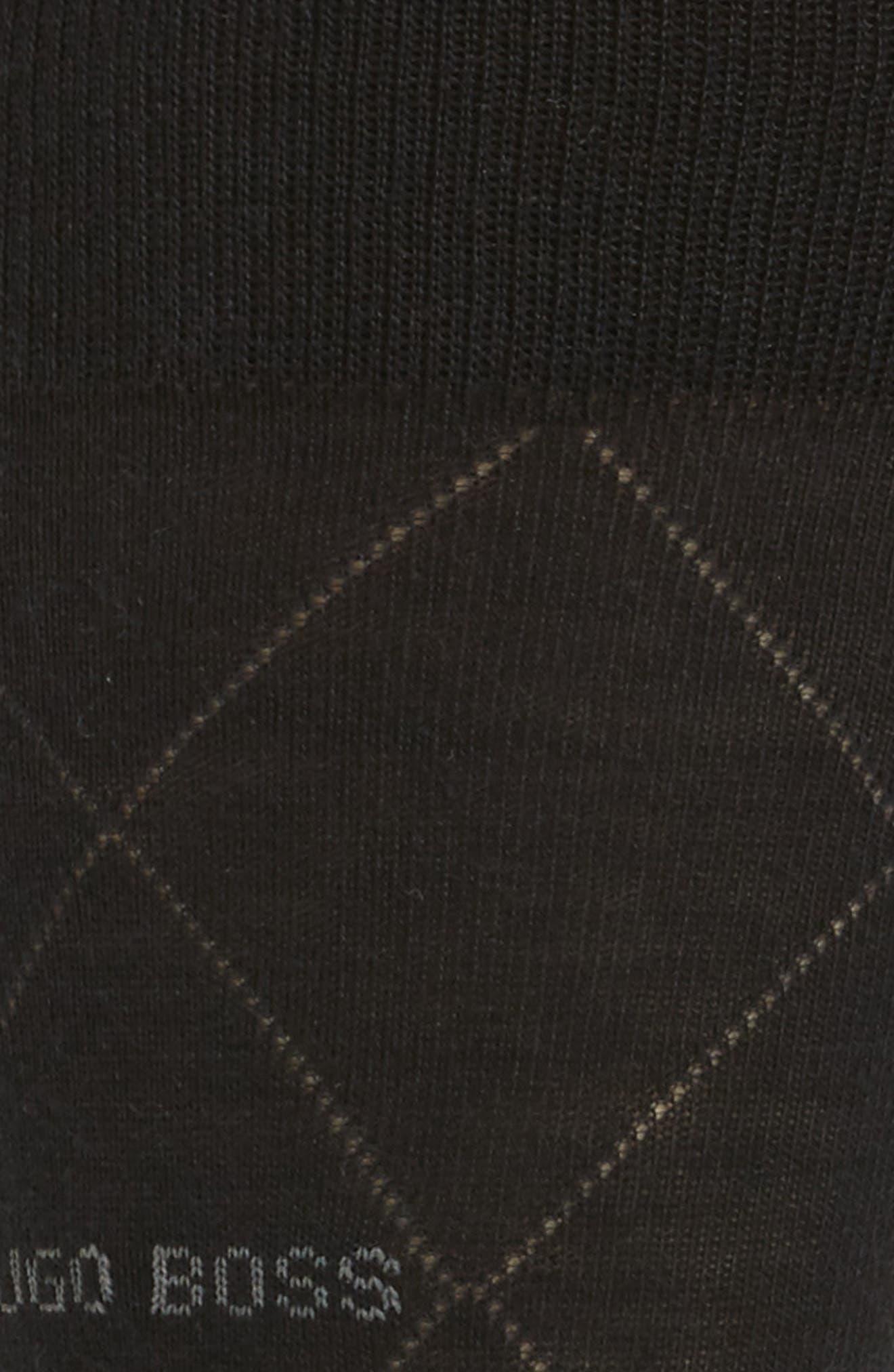 Argyle Crew Socks,                             Alternate thumbnail 2, color,                             001