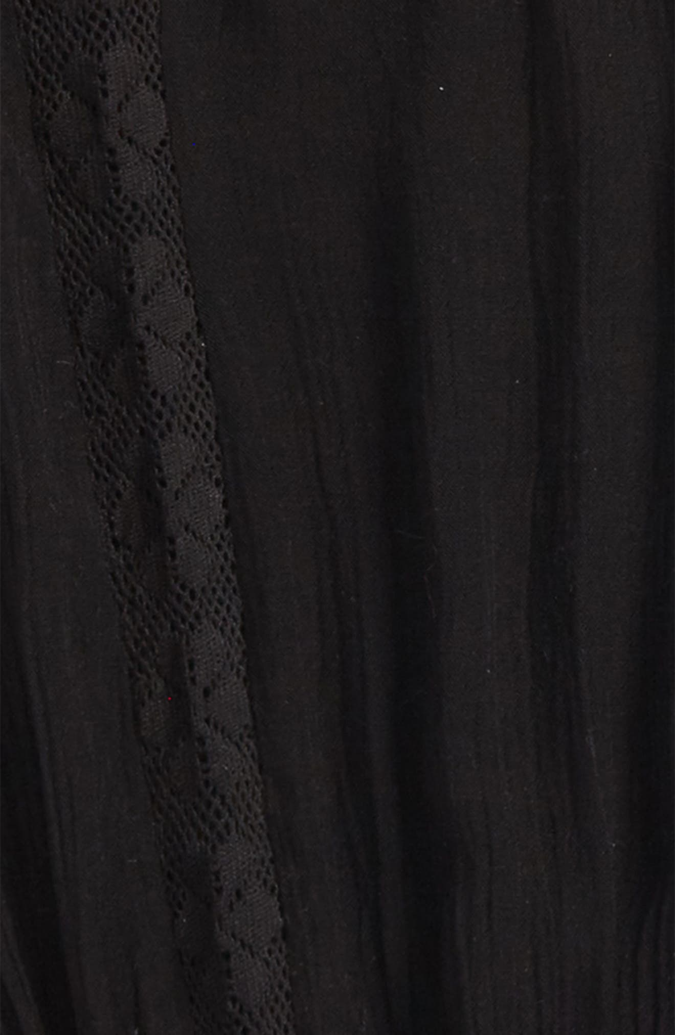 O'NEILL,                             Woven Long Sleeve Top,                             Alternate thumbnail 2, color,                             001