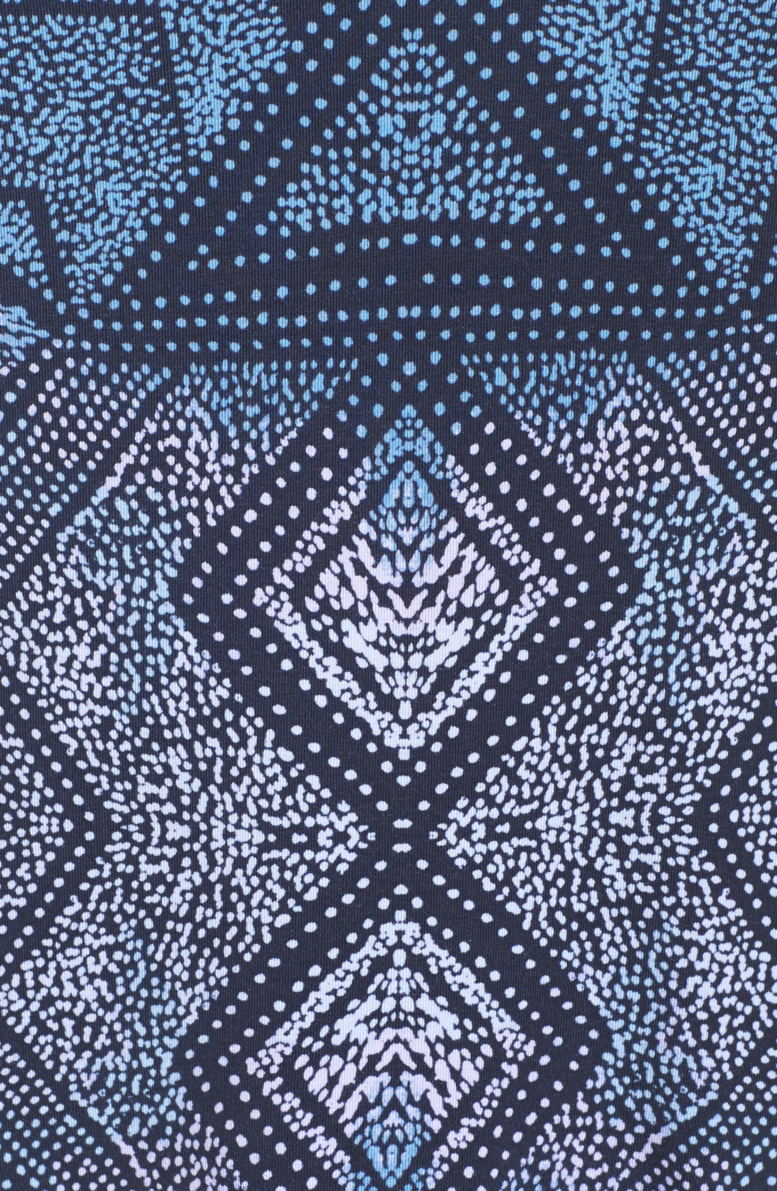 Toni Print Top,                             Alternate thumbnail 5, color,                             BATIK DIAMONDS