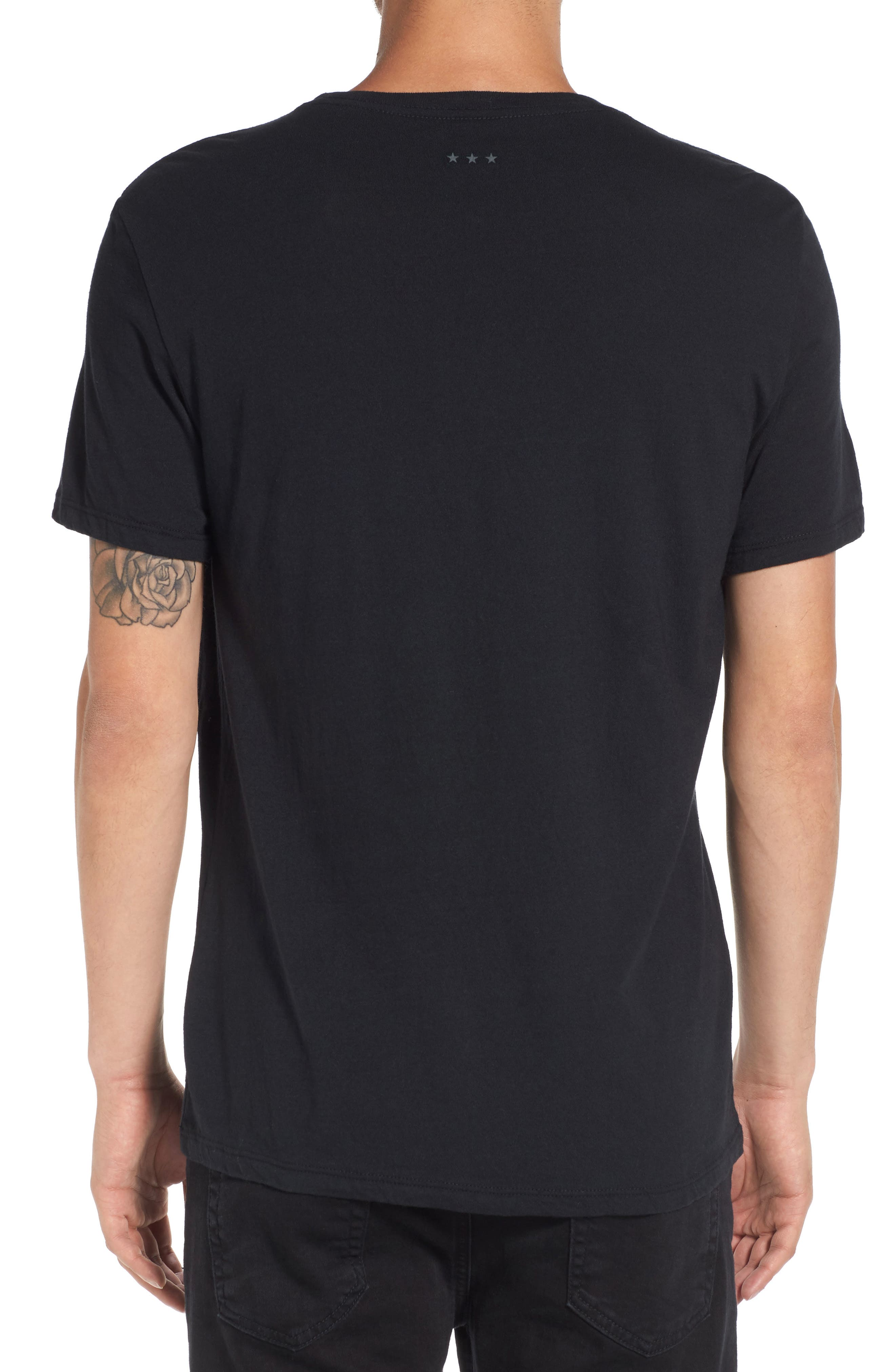 'Peace Flag' Graphic T-Shirt,                             Main thumbnail 1, color,                             001