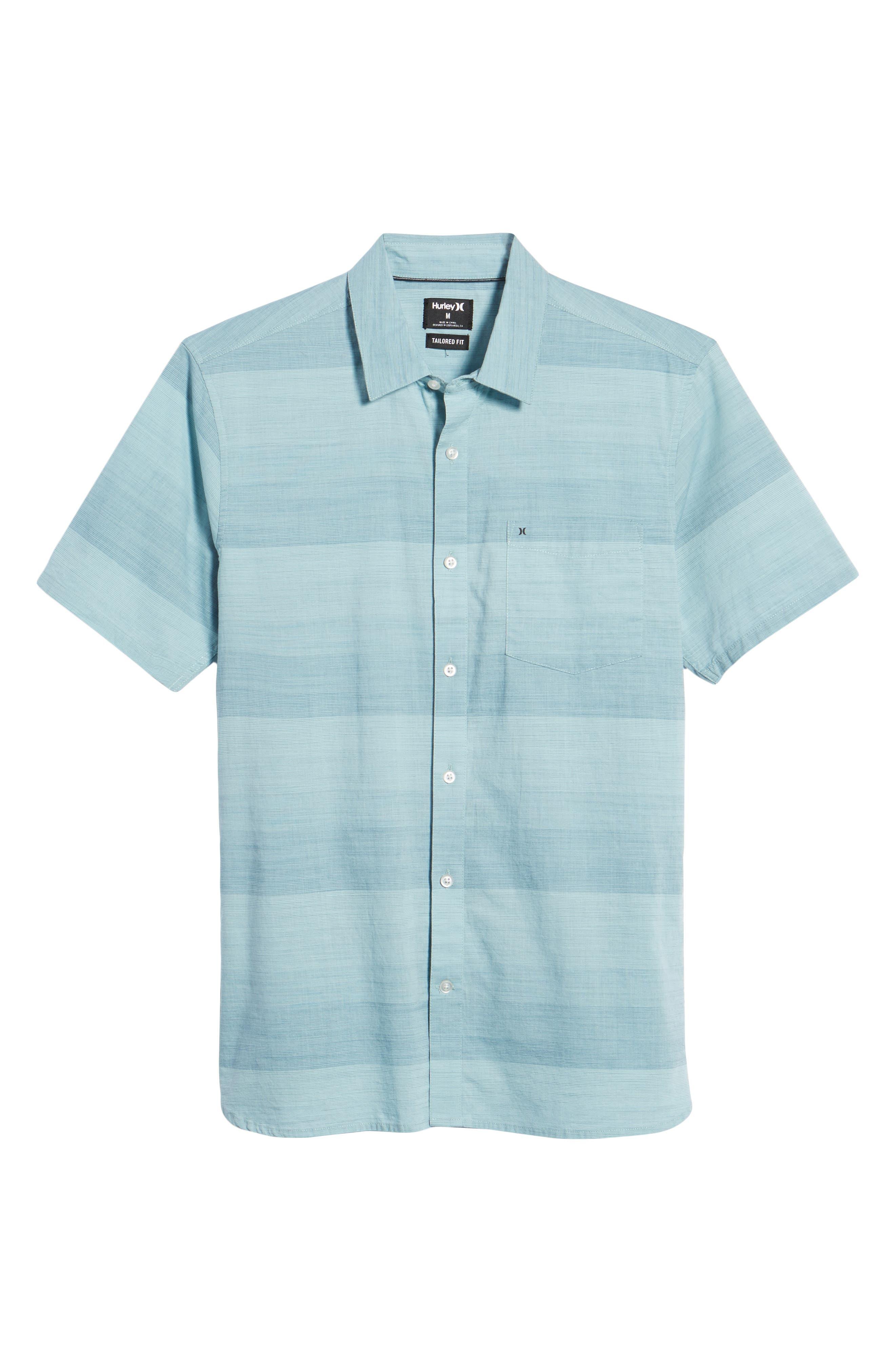 Morris Shirt,                             Alternate thumbnail 6, color,                             NOISE AQUA