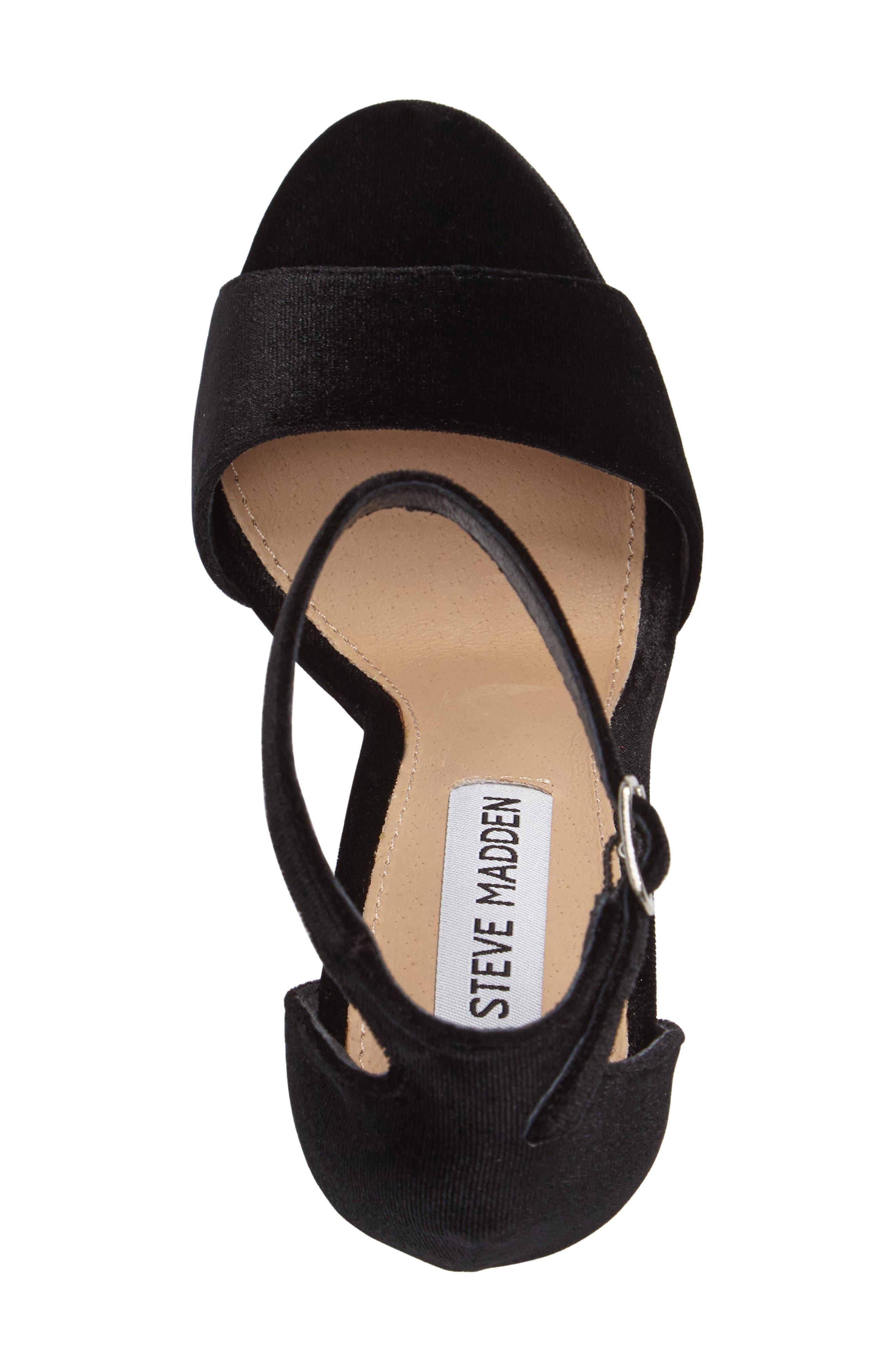 Gonzo Platform Sandal,                             Alternate thumbnail 3, color,                             001
