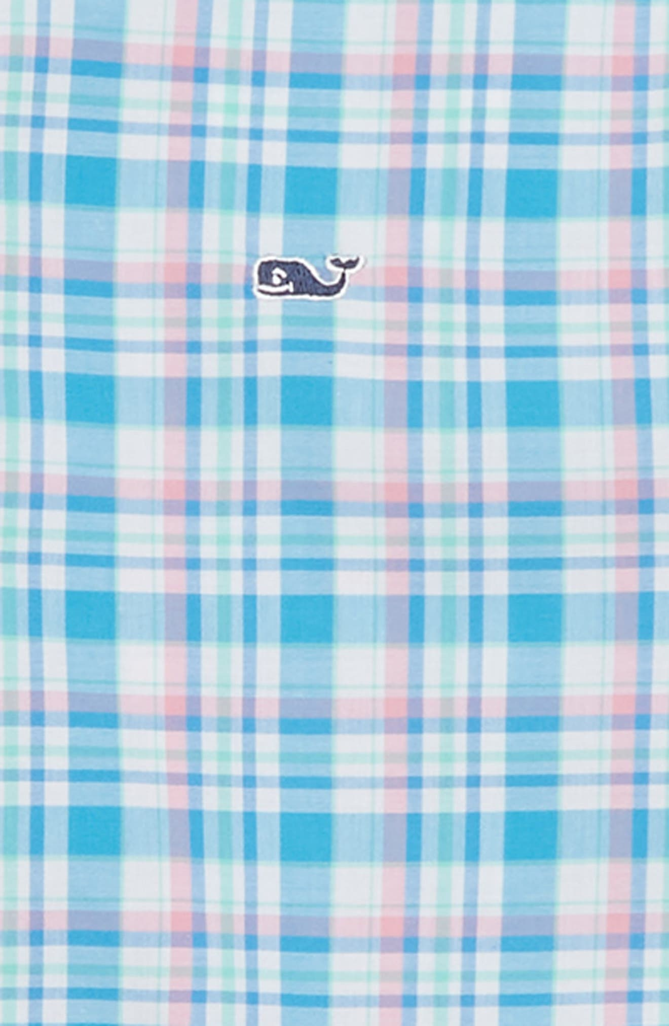 Pinmy's Point Plaid Whale Shirt,                             Alternate thumbnail 2, color,                             412