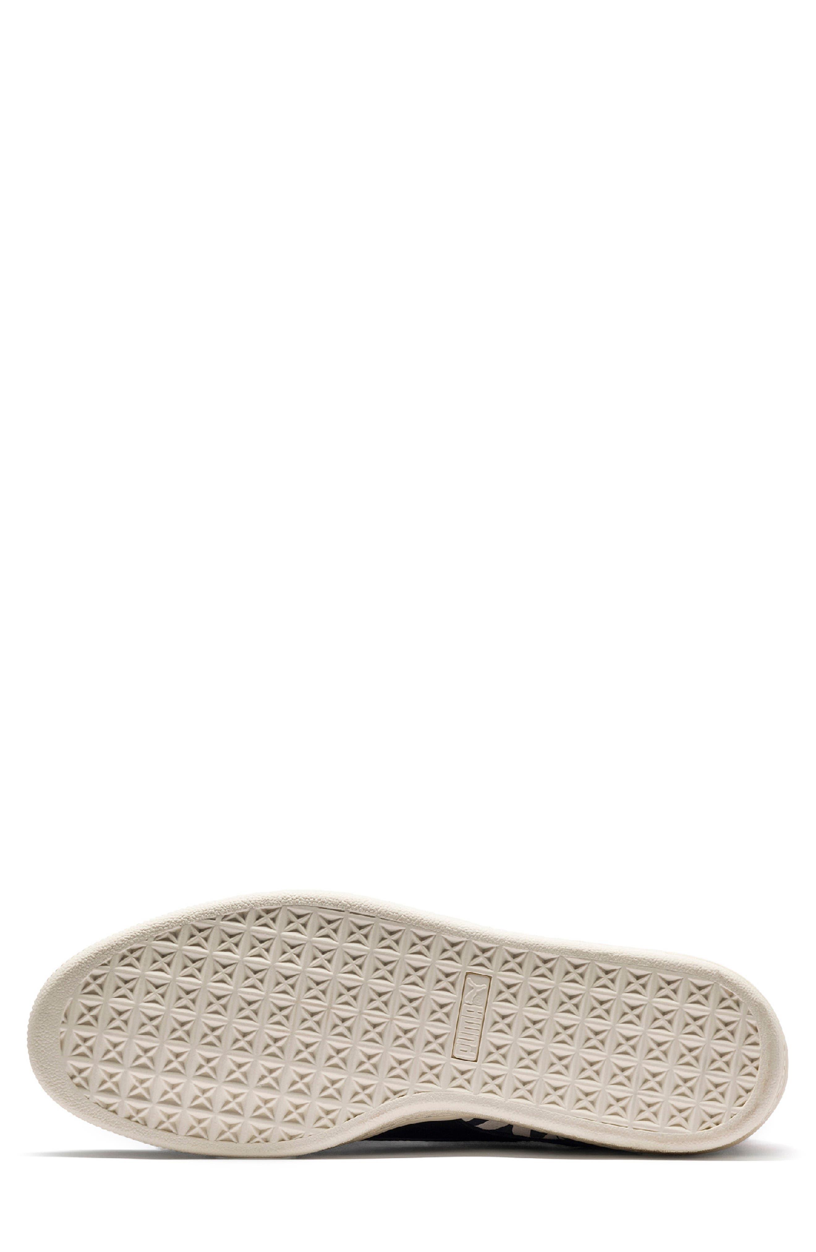 x Paul Stanley Suede Classic Sneaker,                             Alternate thumbnail 4, color,                             100