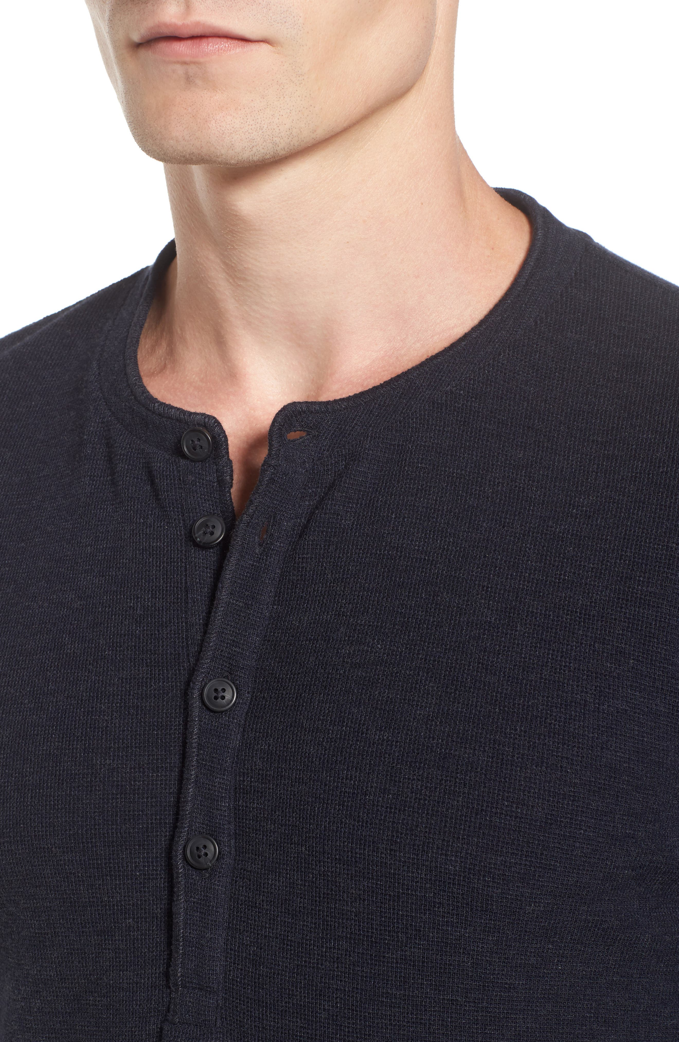 Topsider Thermal Henley,                             Alternate thumbnail 16, color,