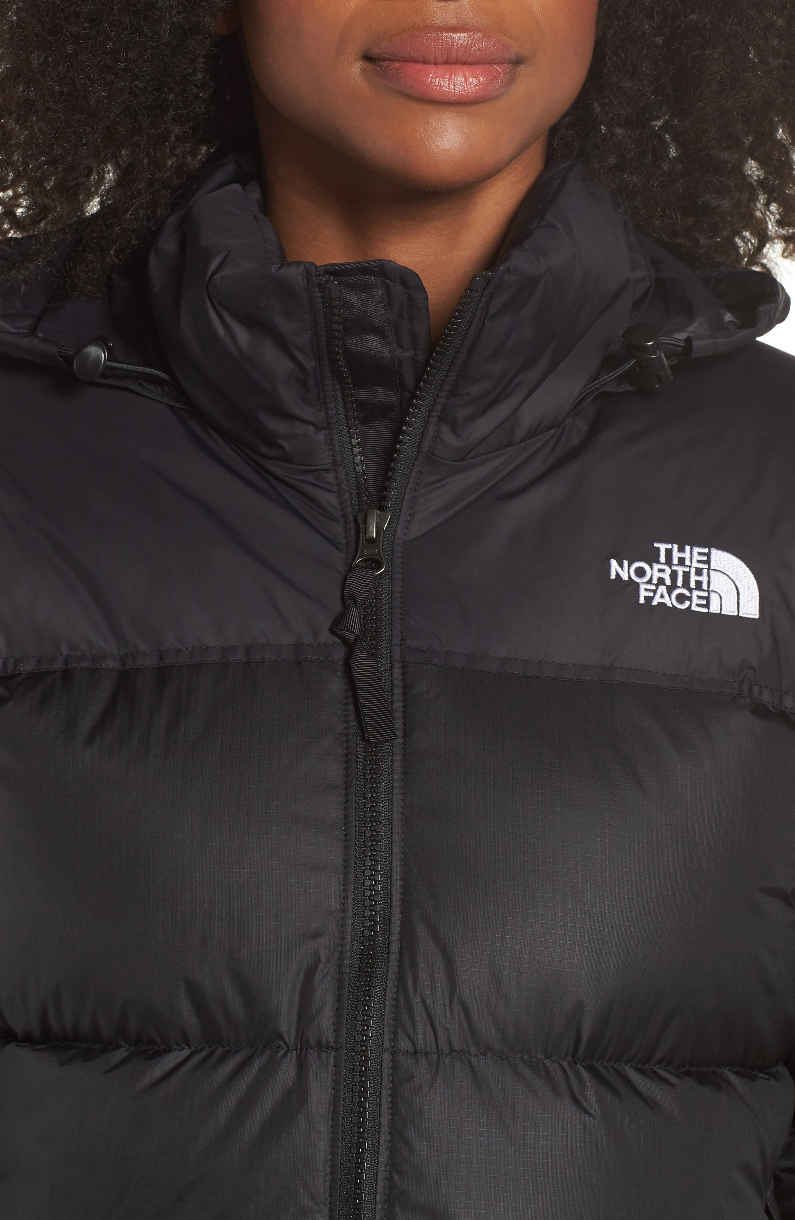 Nuptse 1996 Packable Quilted Down Jacket,                             Alternate thumbnail 4, color,                             TNF BLACK