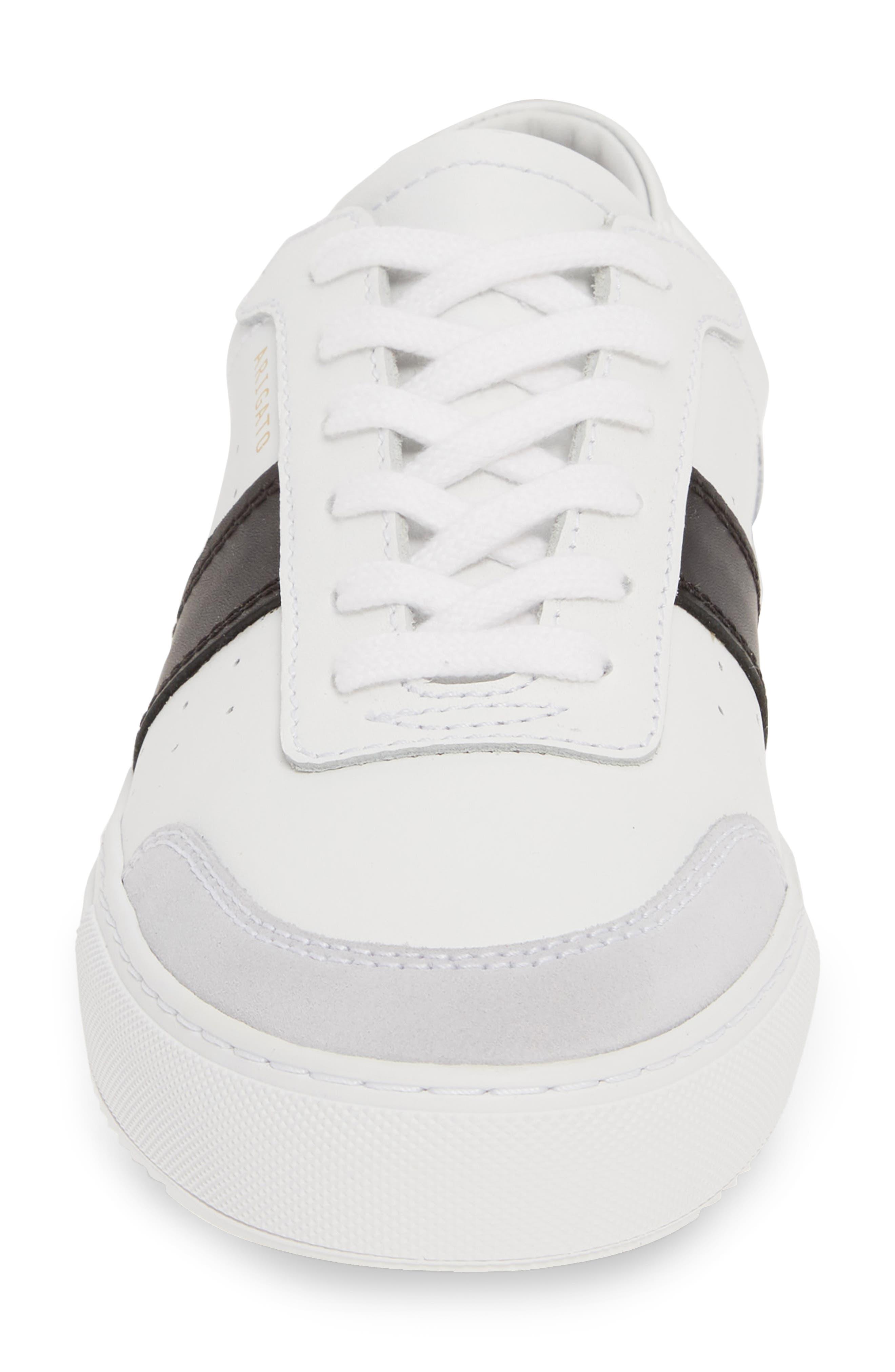 AXEL ARIGATO,                             Dunk Sneaker,                             Alternate thumbnail 4, color,                             WHITE W/ BLACK STRIPE