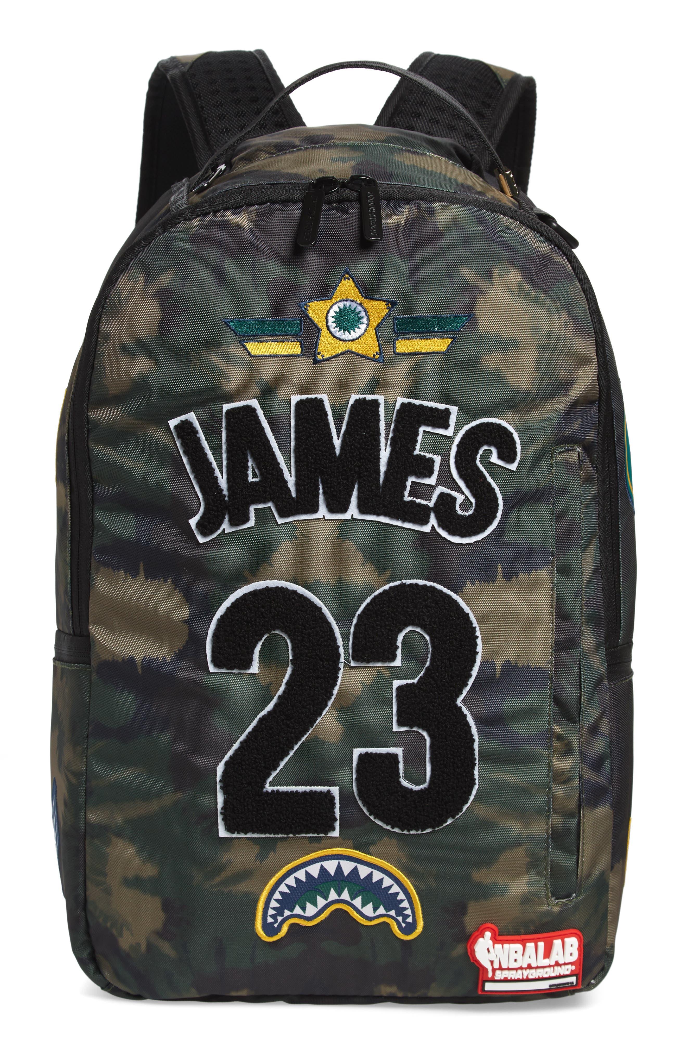 James Tie Dye Backpack,                         Main,                         color, TIE DYE