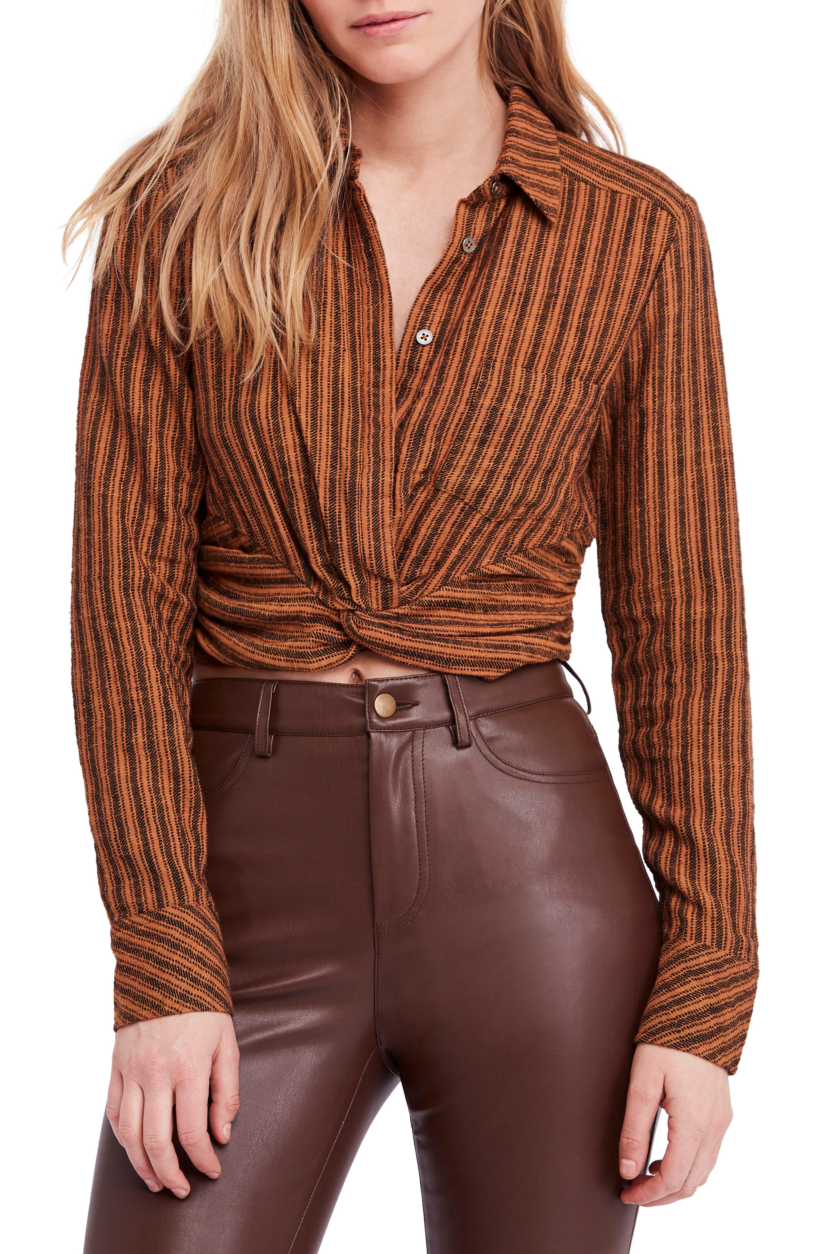 FREE PEOPLE Lust for Life Twist Top, Main, color, 205