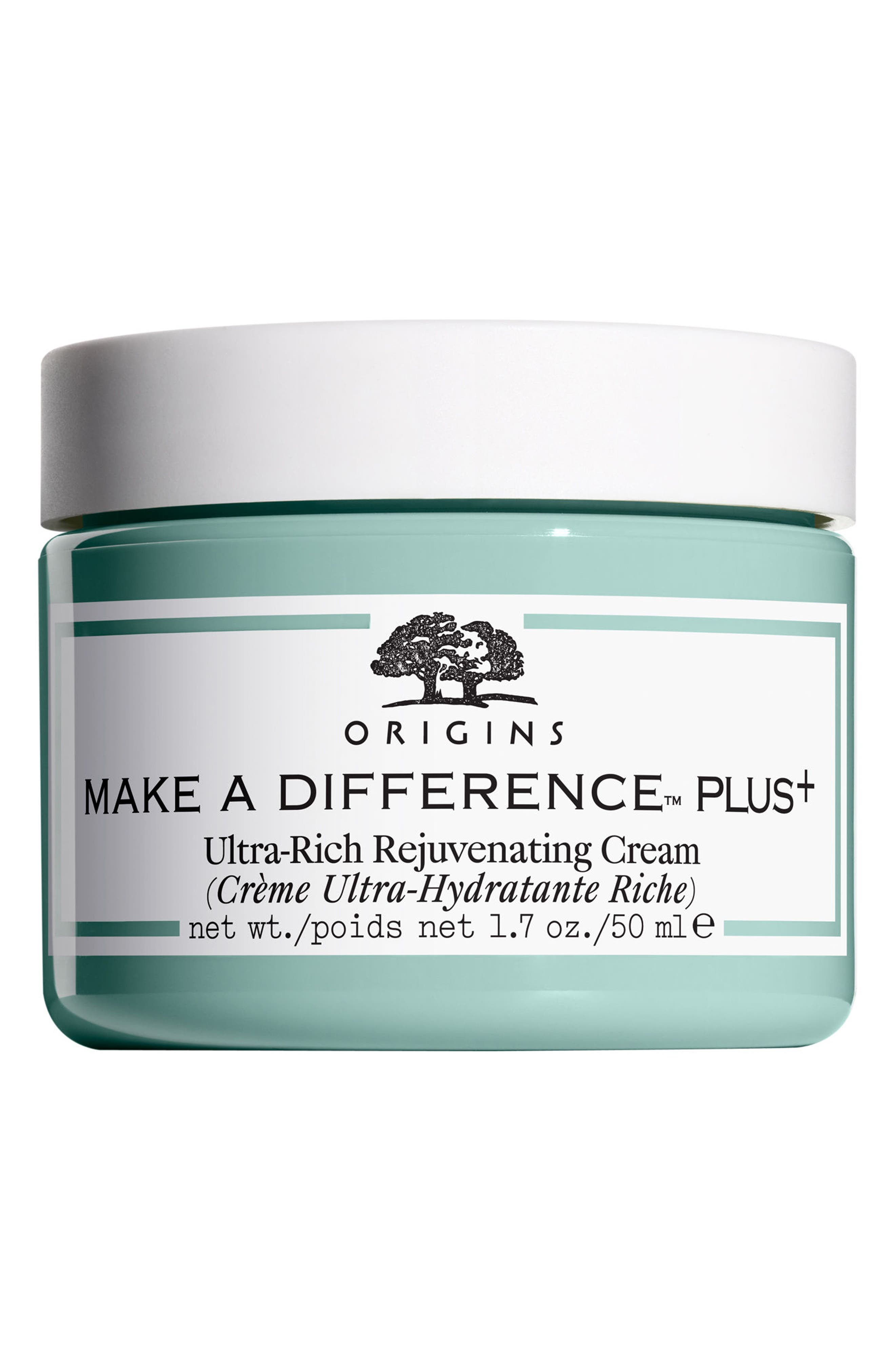 Make A Difference<sup>™</sup> Plus+ Ultra-Rich Rejuvenating Cream,                             Main thumbnail 1, color,                             000