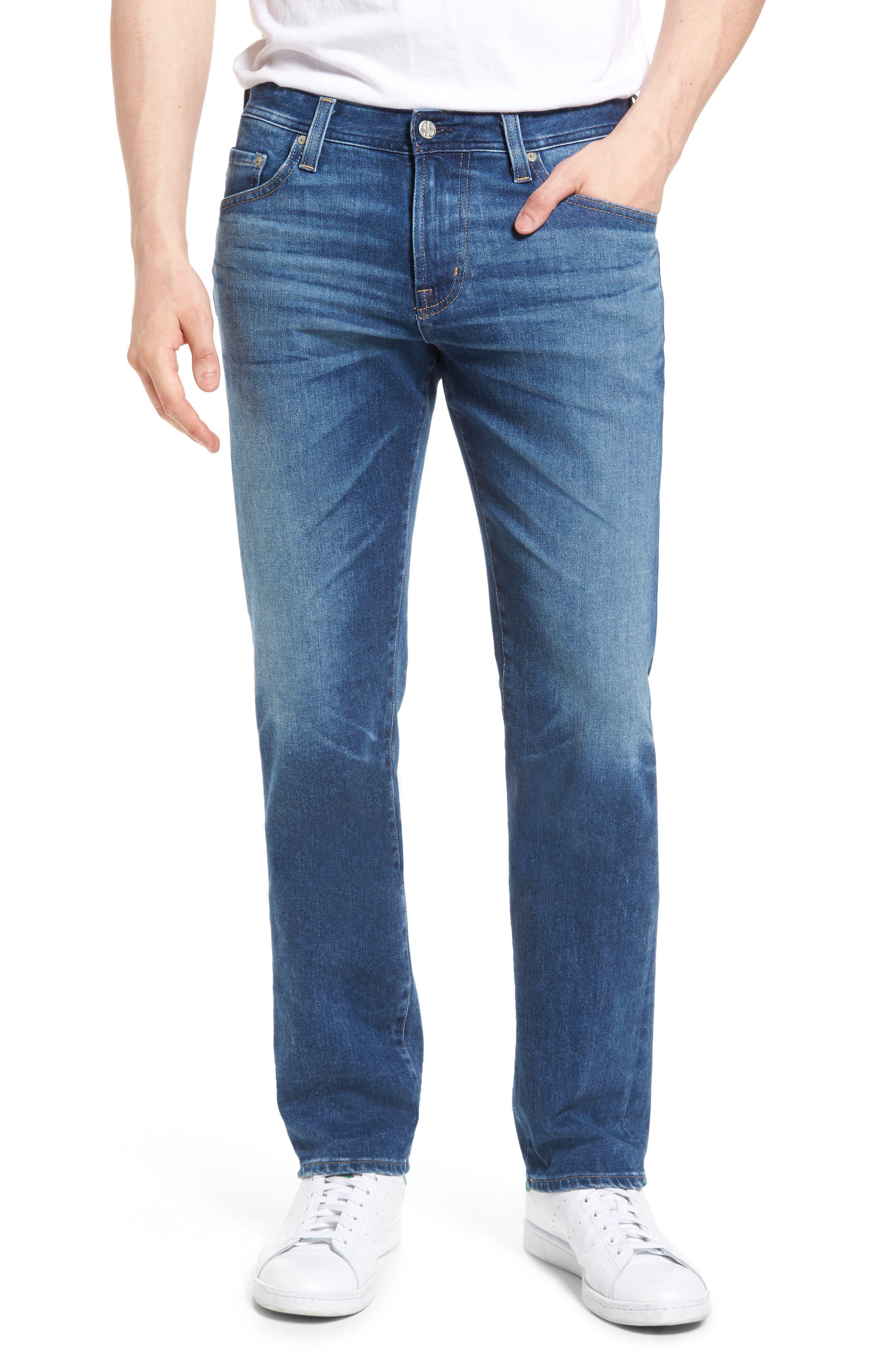 Graduate Slim Straight Leg Jeans,                         Main,                         color, 450