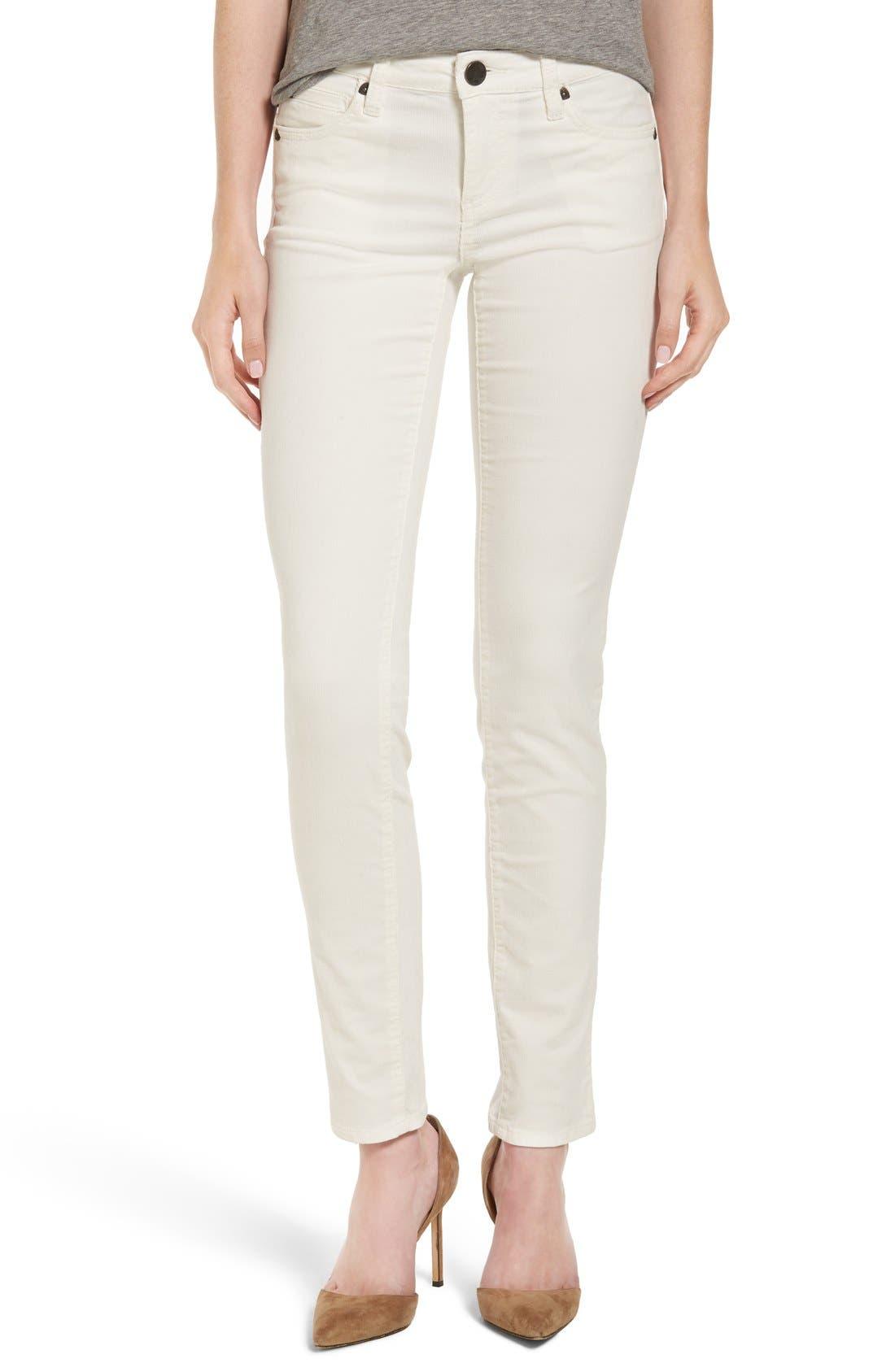 'Diana' Stretch Corduroy Skinny Pants,                             Alternate thumbnail 102, color,
