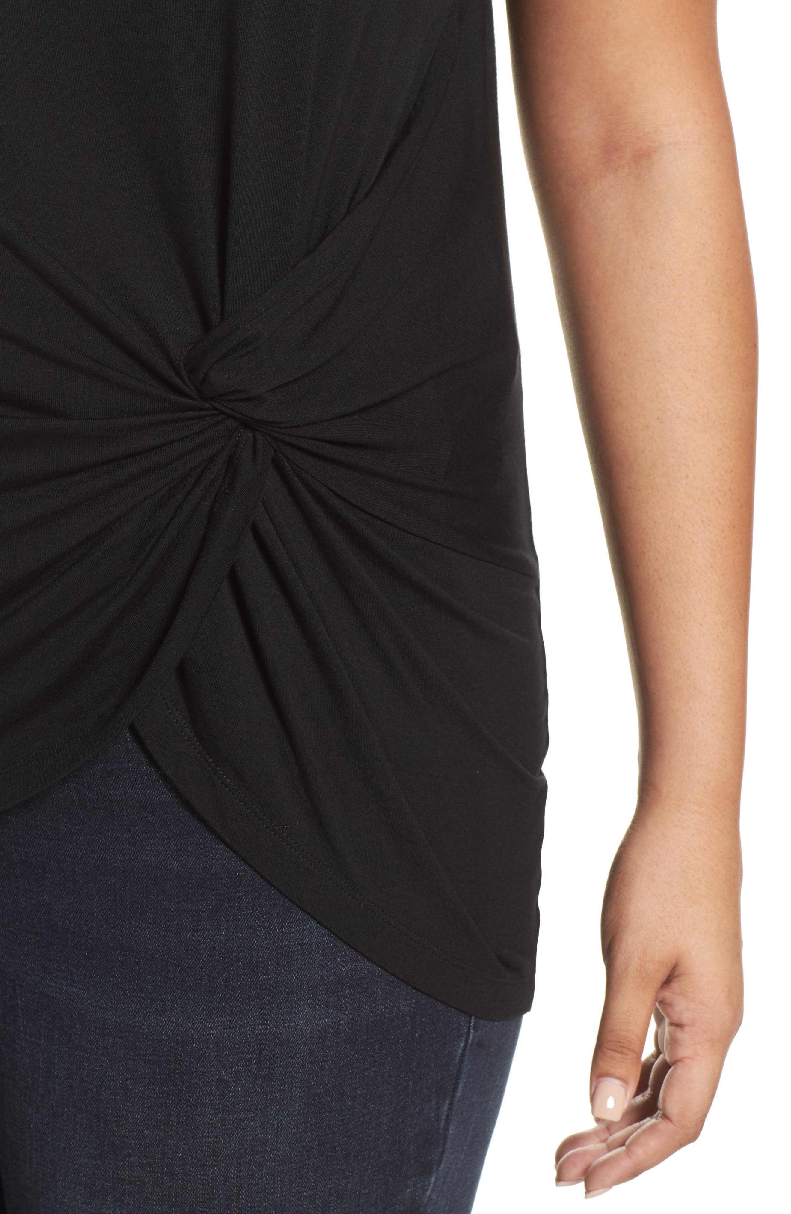 Ruched Top,                             Alternate thumbnail 4, color,                             002