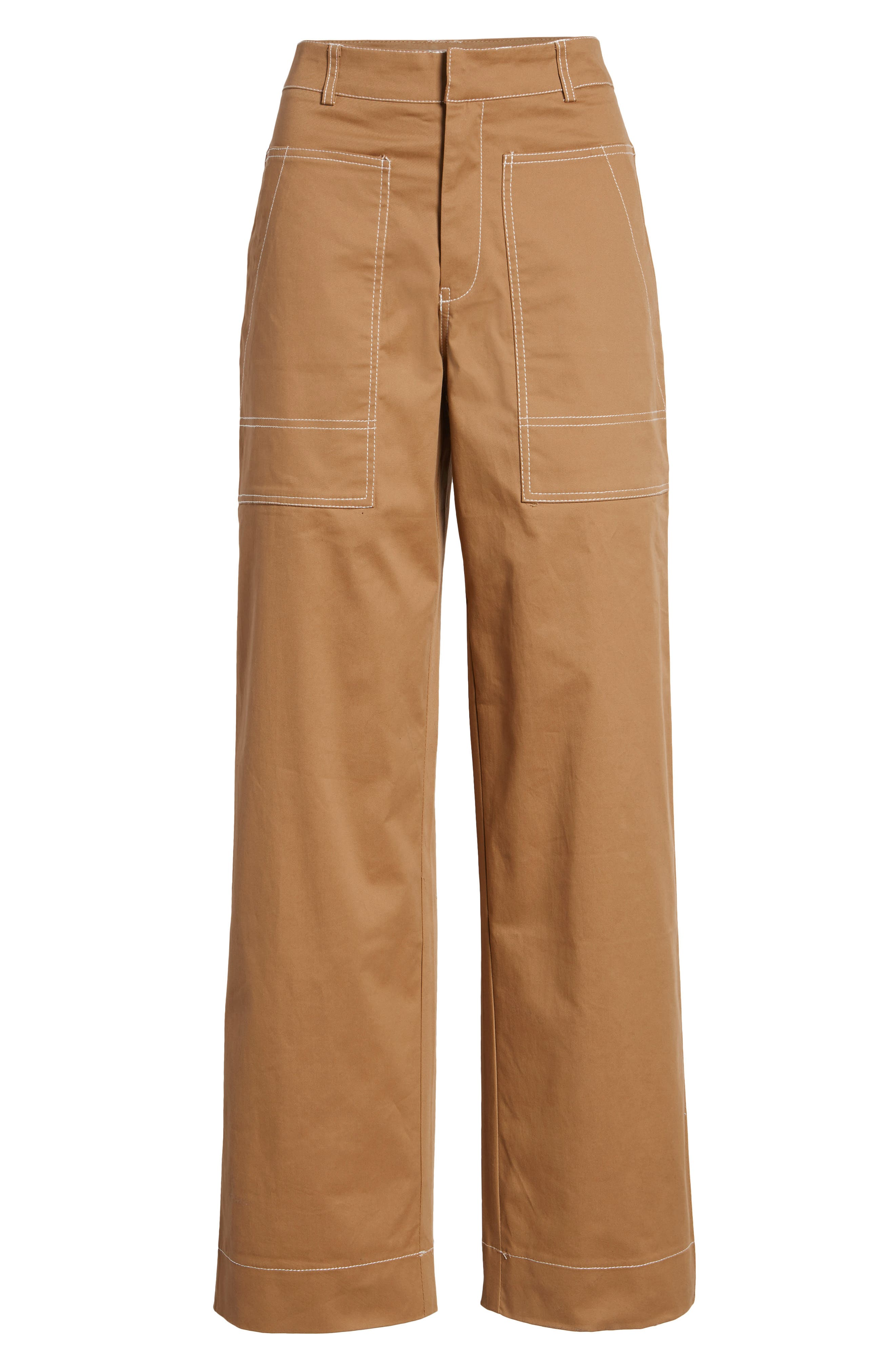 Ada Wide Leg Pants,                             Alternate thumbnail 6, color,                             250