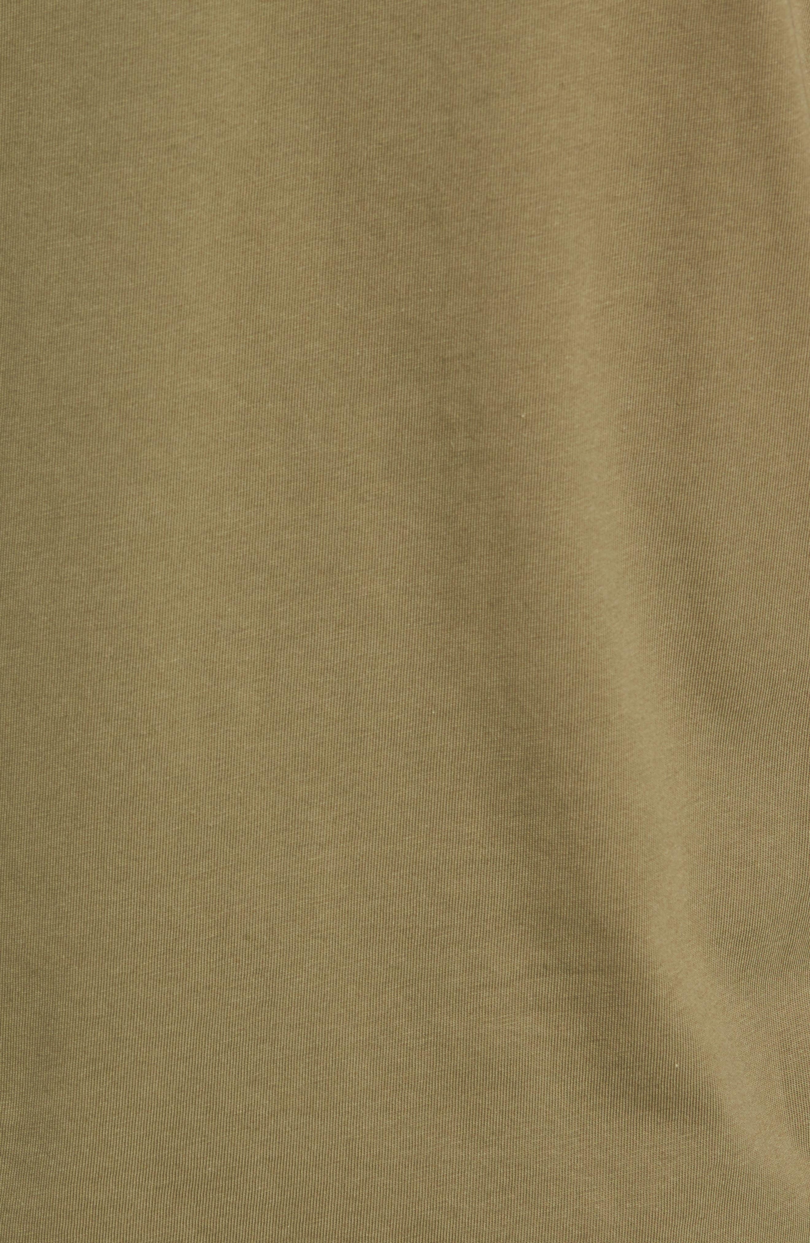 Colorblock Long Sleeve T-Shirt,                             Alternate thumbnail 5, color,                             OLIVE