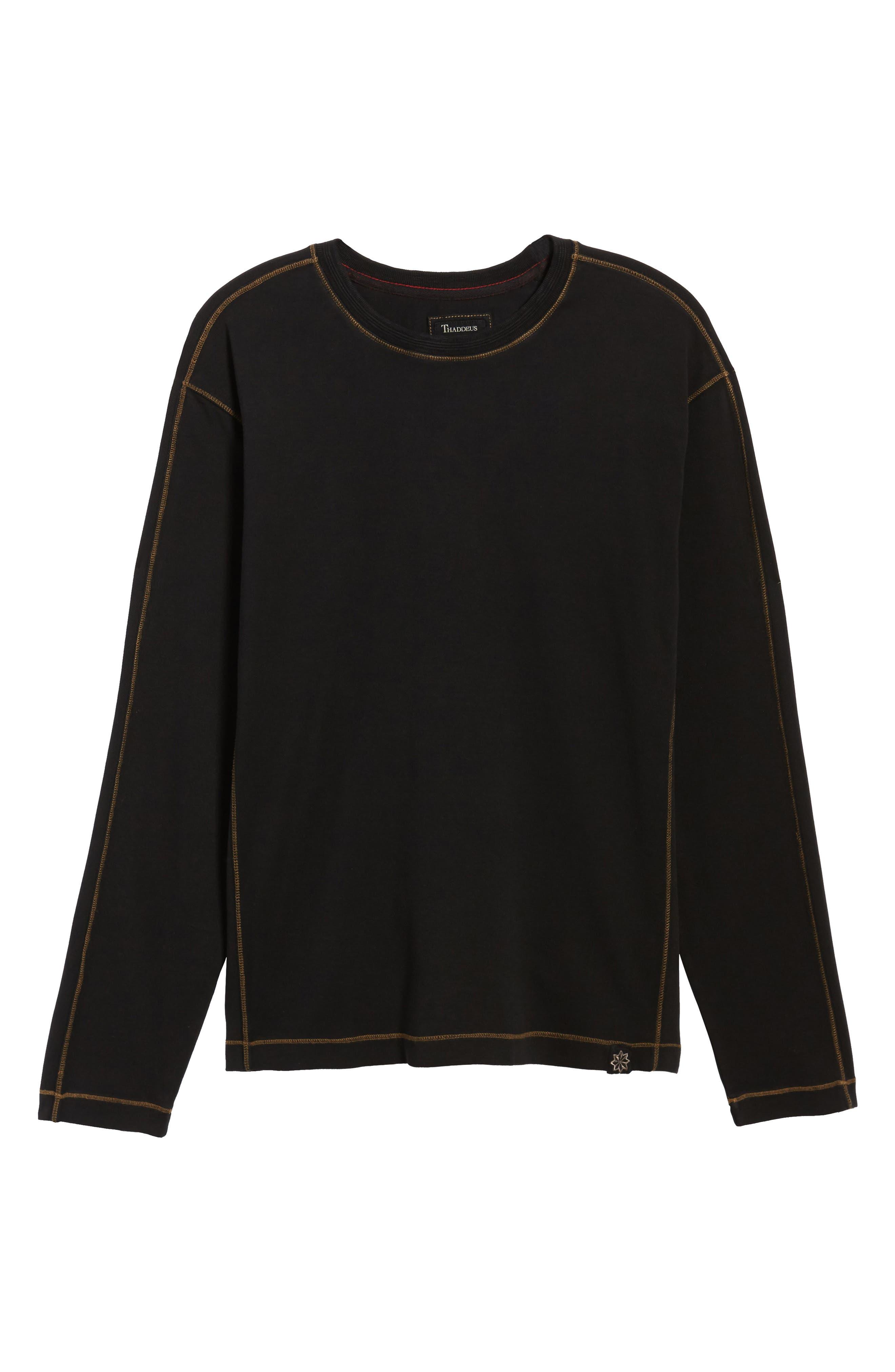 Kenyon Long Sleeve T-Shirt,                             Alternate thumbnail 6, color,                             001