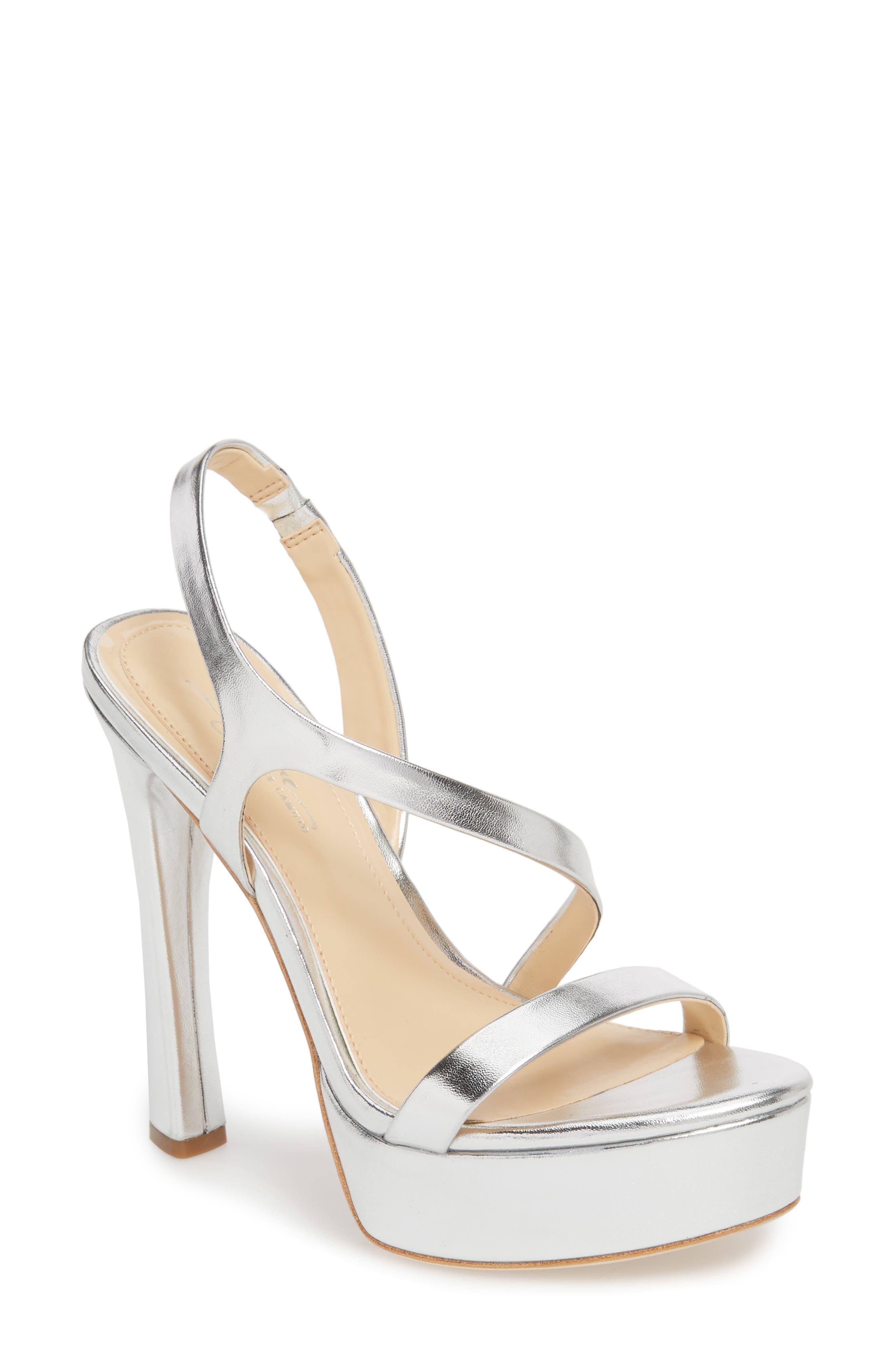 Imagine By Vince Camuto Piera Platform Sandal, Metallic