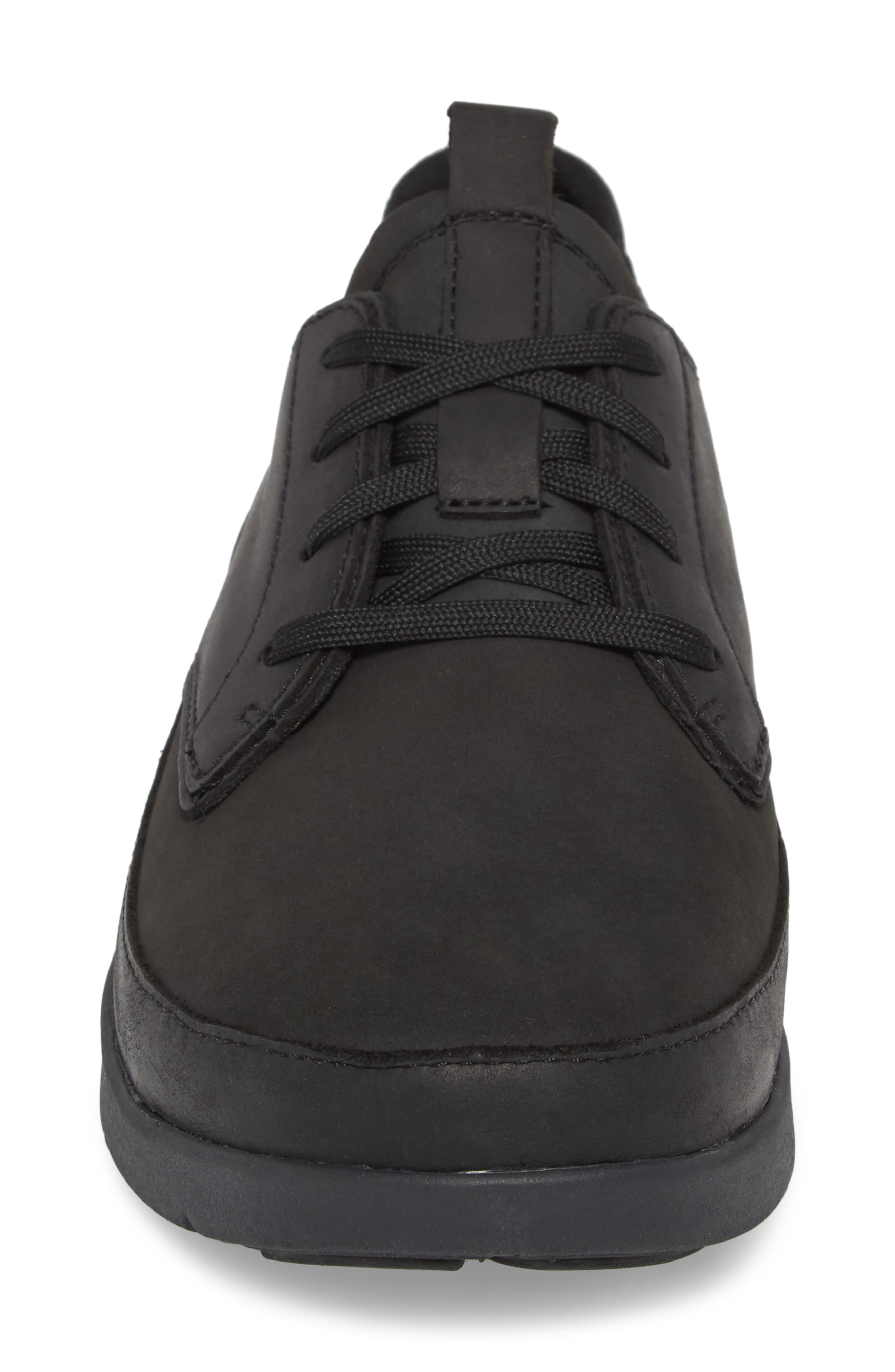 Worldwide Ross Waterproof Sneaker,                             Alternate thumbnail 4, color,                             BLACK