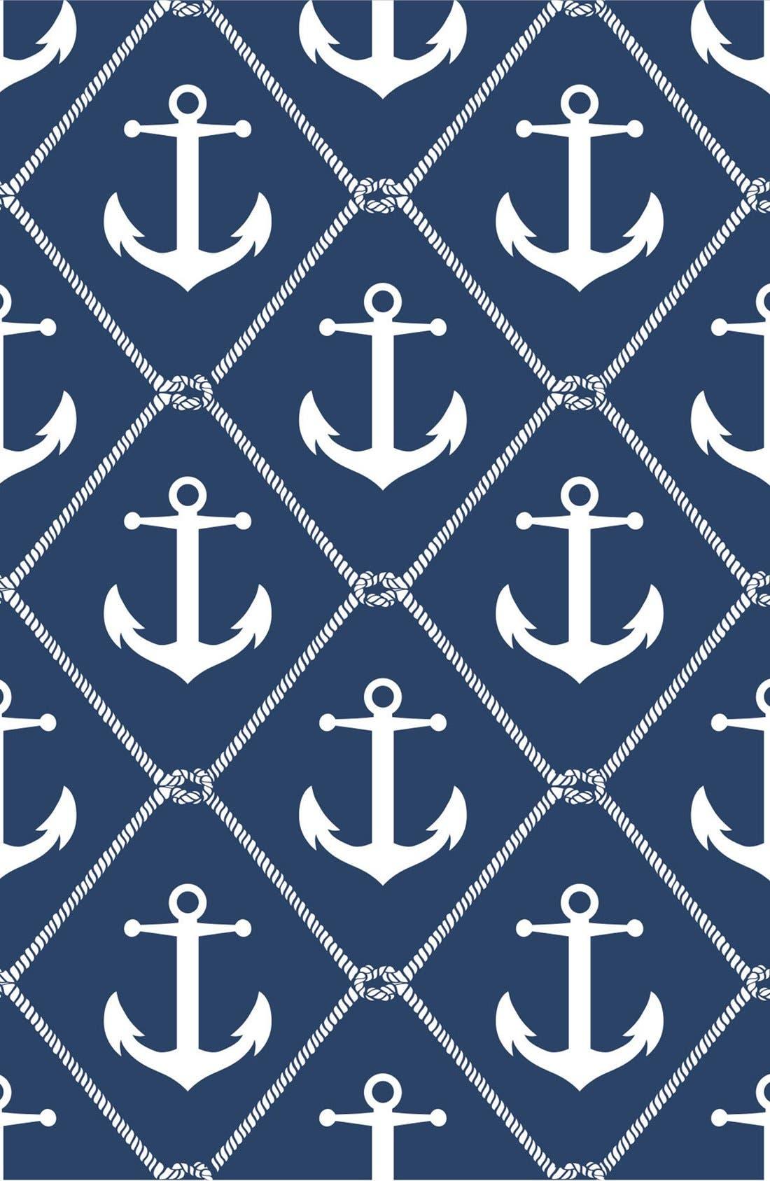 'Set Sail'  Peel & Stick Vinyl Wallpaper, Main, color, 400