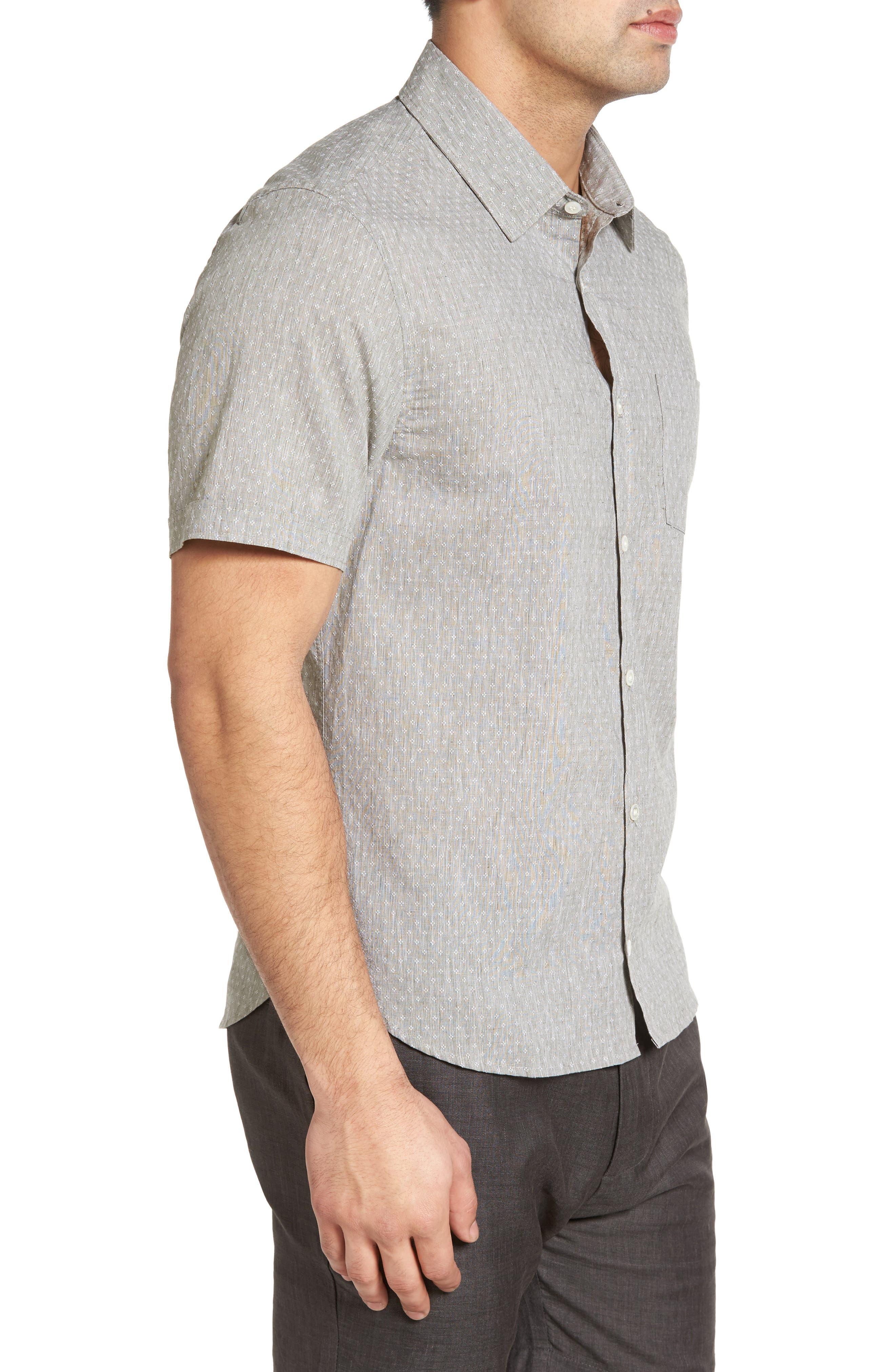 LANAI COLLECTION,                             Classic Fit Sport Shirt,                             Alternate thumbnail 3, color,                             310