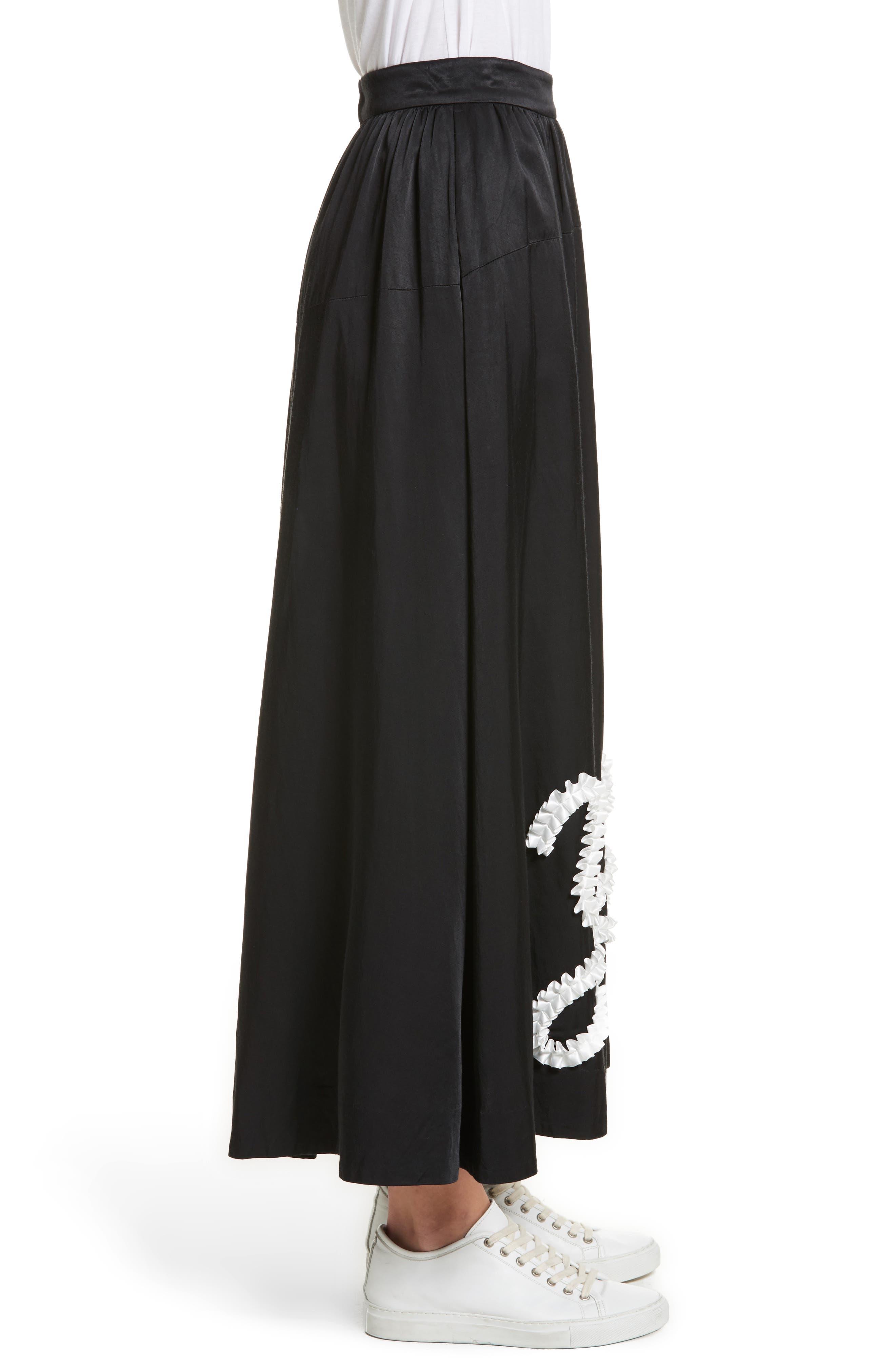 Yes Ribbon Maxi Skirt,                             Alternate thumbnail 3, color,