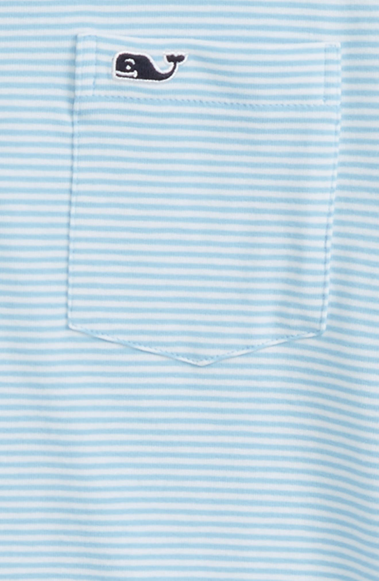 VINEYARD VINES,                             Edgartown Stripe Polo,                             Alternate thumbnail 2, color,                             OCEAN BREEZE
