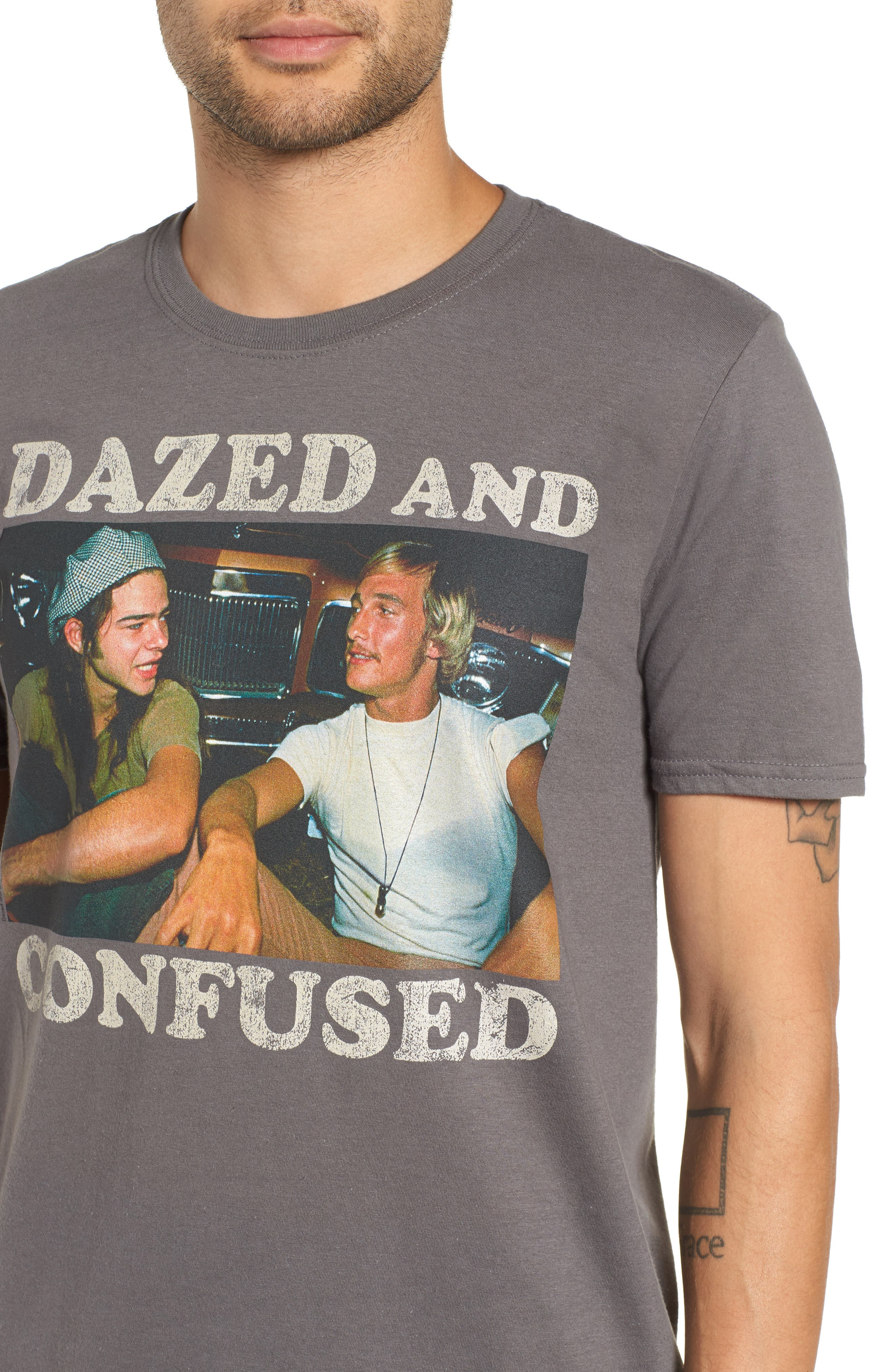 Dazed & Confused Graphic T-Shirt,                             Alternate thumbnail 4, color,                             030