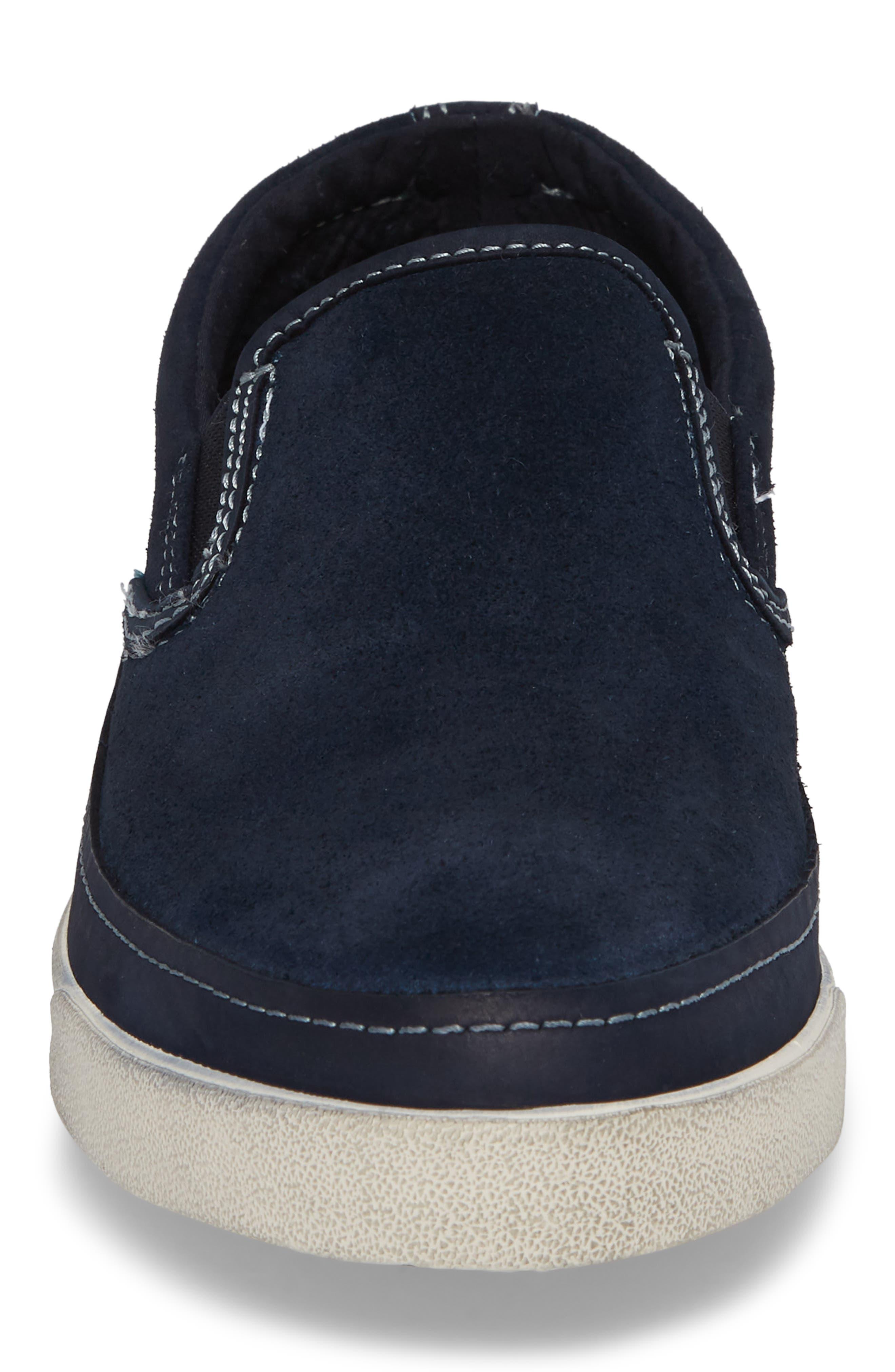 Jett Slip-On Sneaker,                             Alternate thumbnail 4, color,                             MIDNIGHT