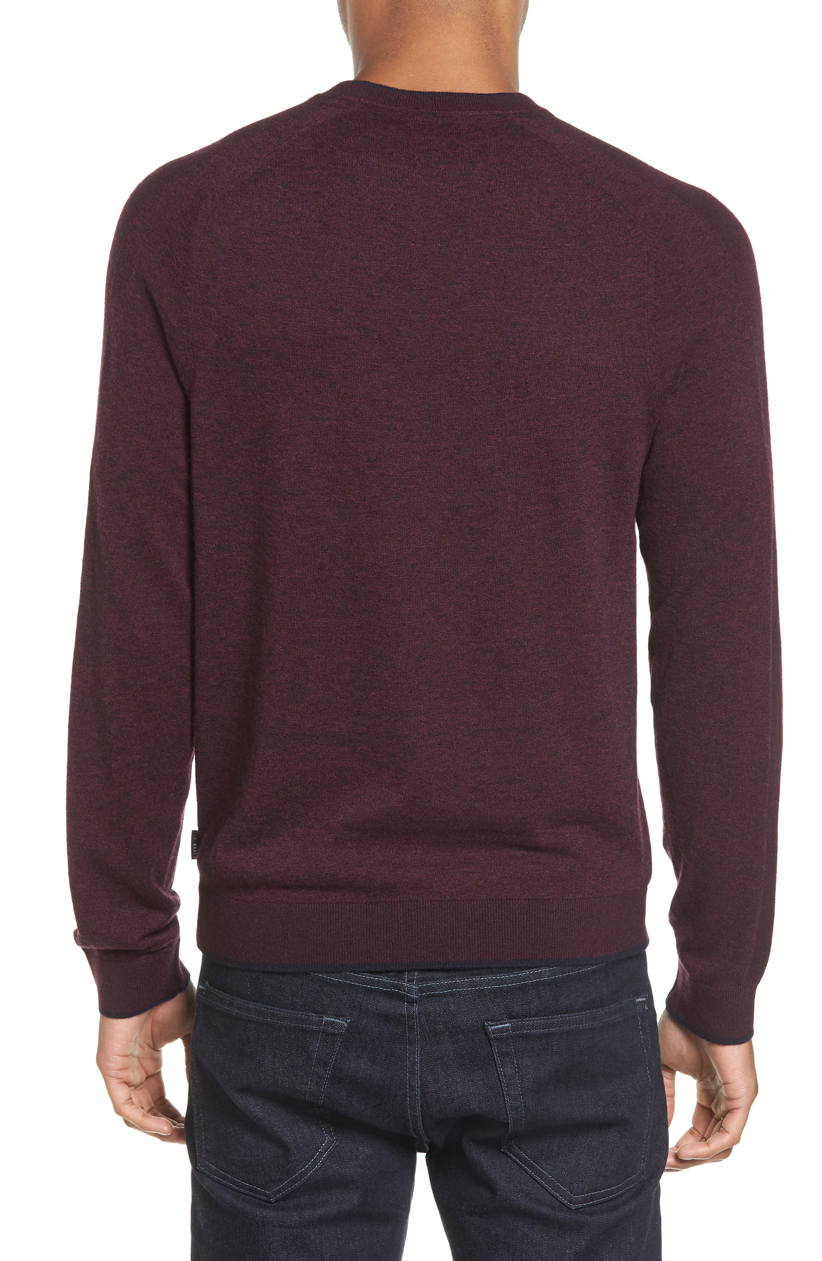Norpol Crewneck Sweater,                             Alternate thumbnail 8, color,