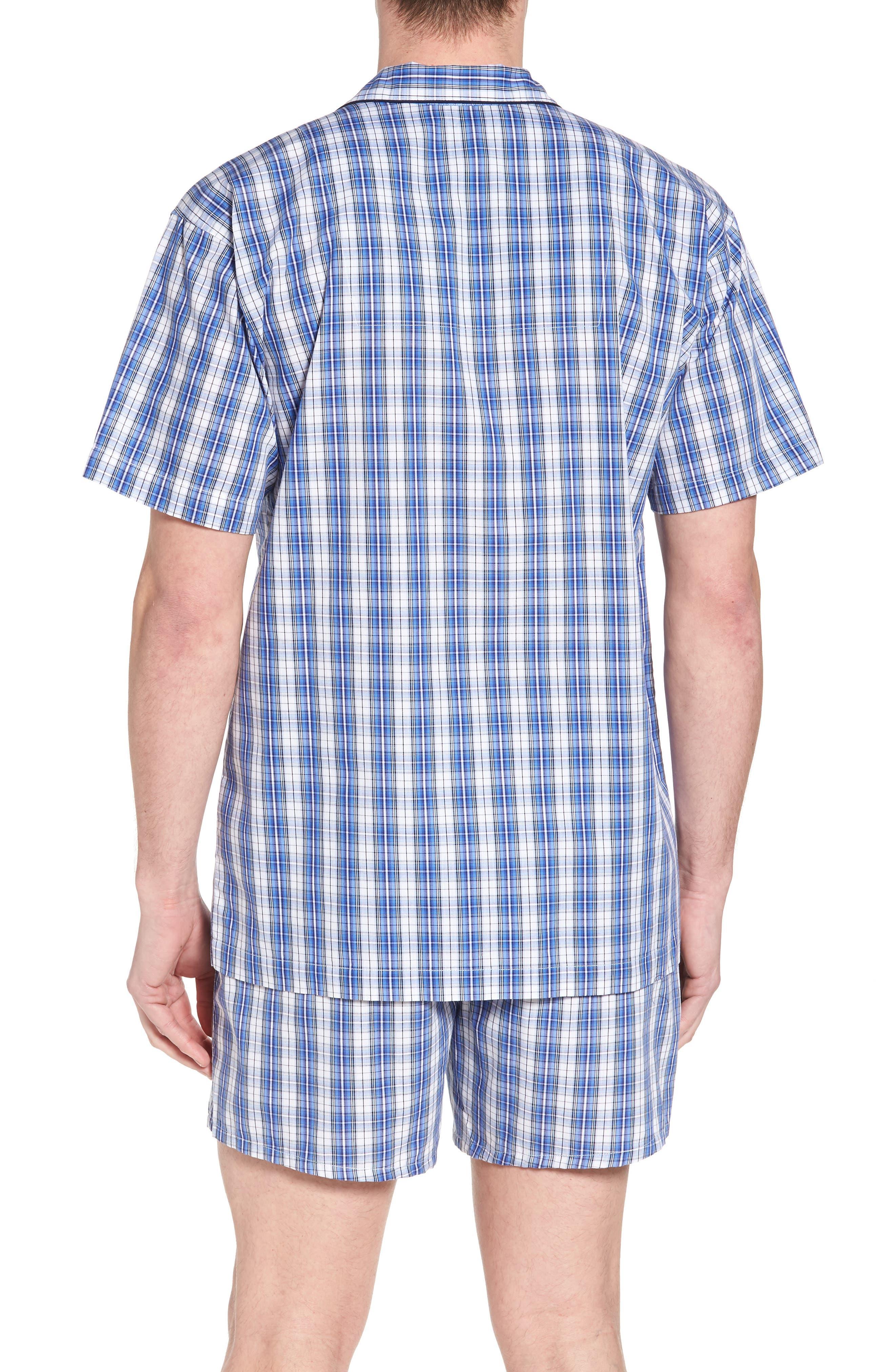 Cotton Pajama Shirt,                             Alternate thumbnail 2, color,                             428
