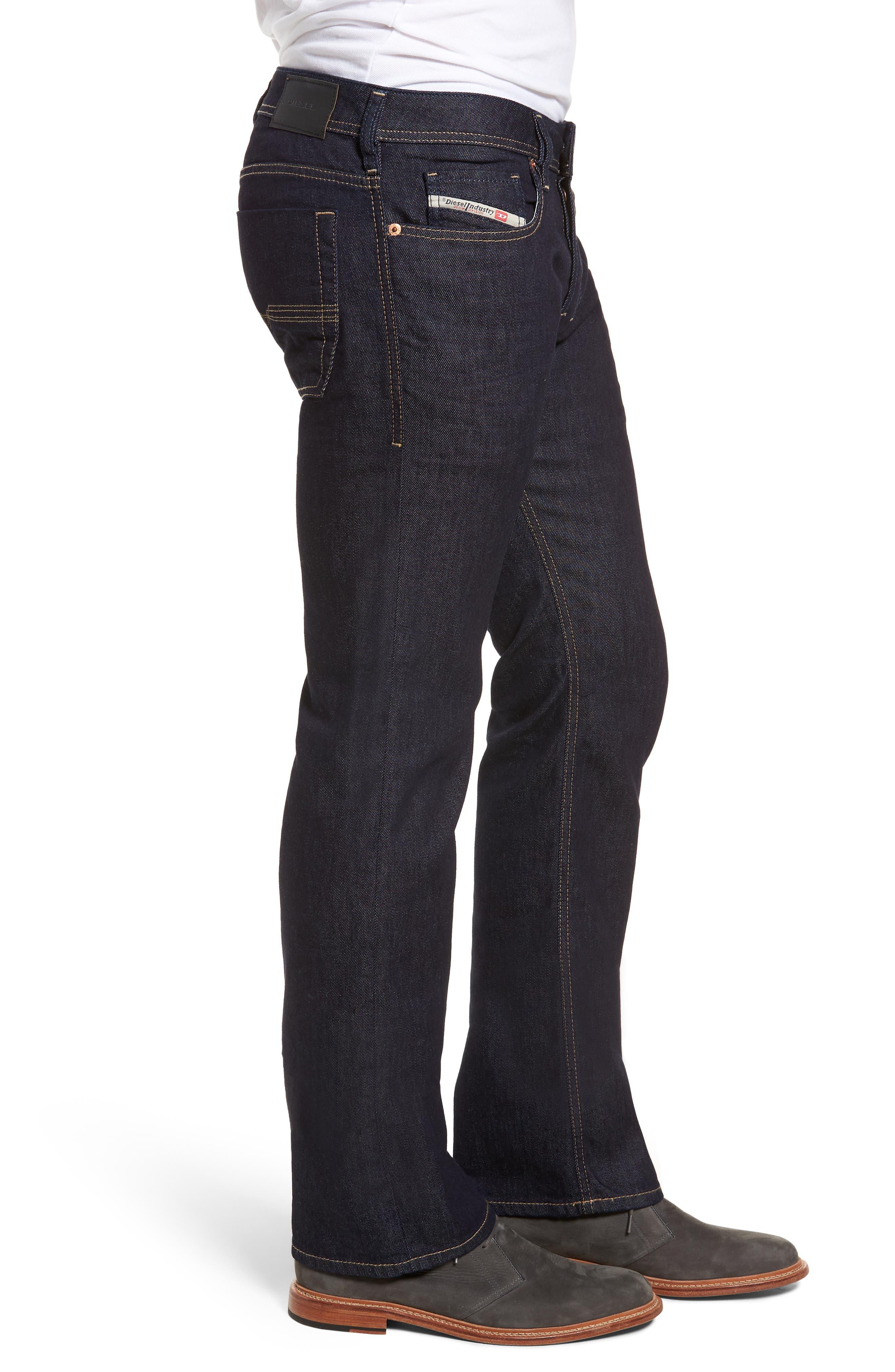 Zatiny Bootcut Jeans,                             Alternate thumbnail 3, color,                             BLUE
