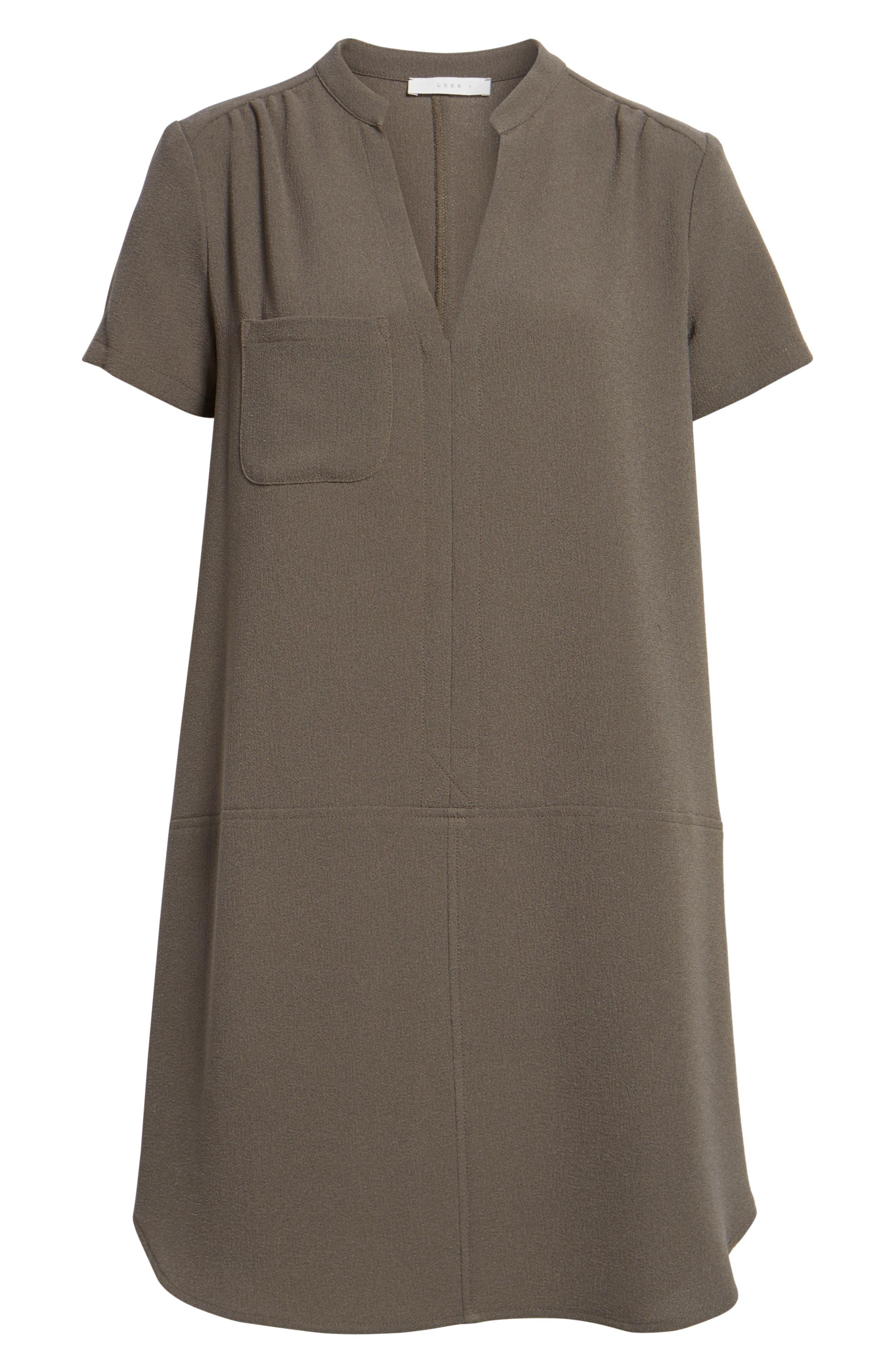 Hailey Crepe Dress,                             Alternate thumbnail 147, color,