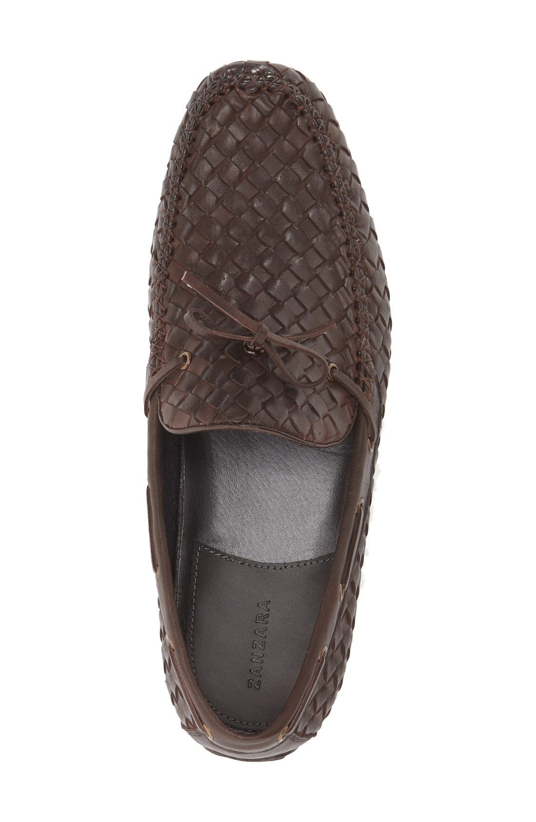 Leather Loafer,                             Alternate thumbnail 22, color,