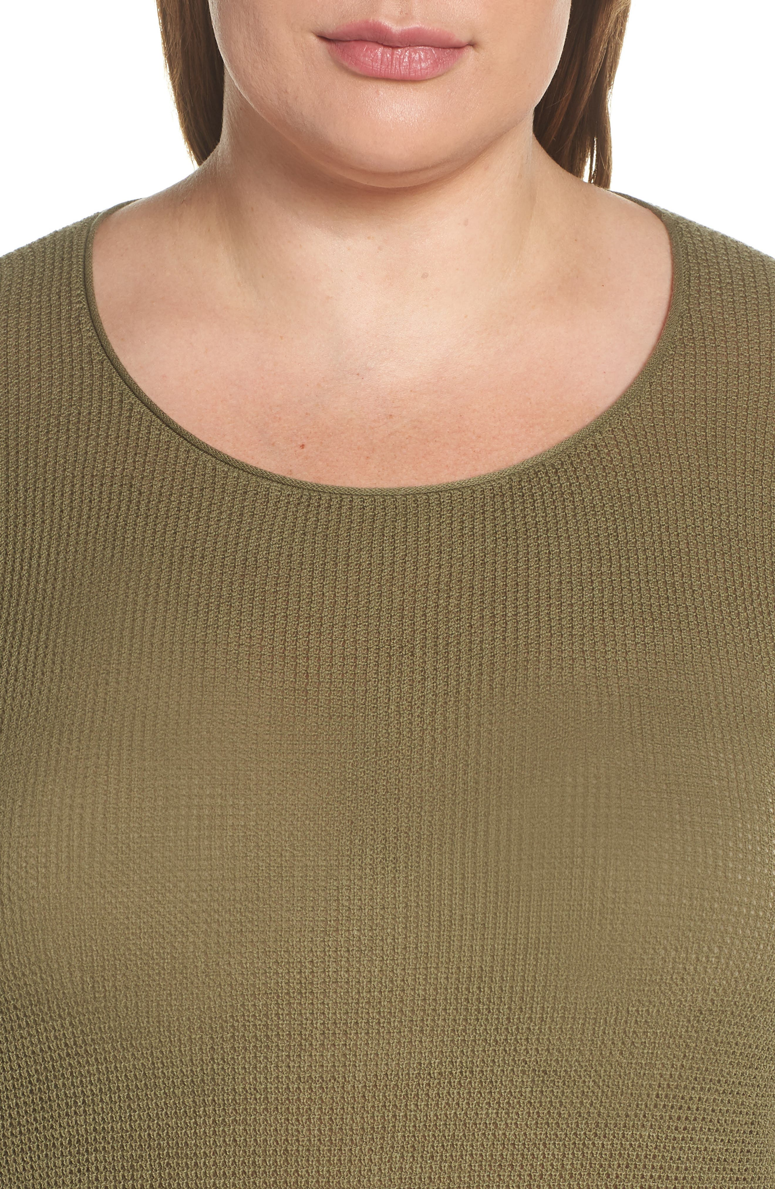 Coastal Thermal Sweater,                             Alternate thumbnail 10, color,                             OLIVE BURNT