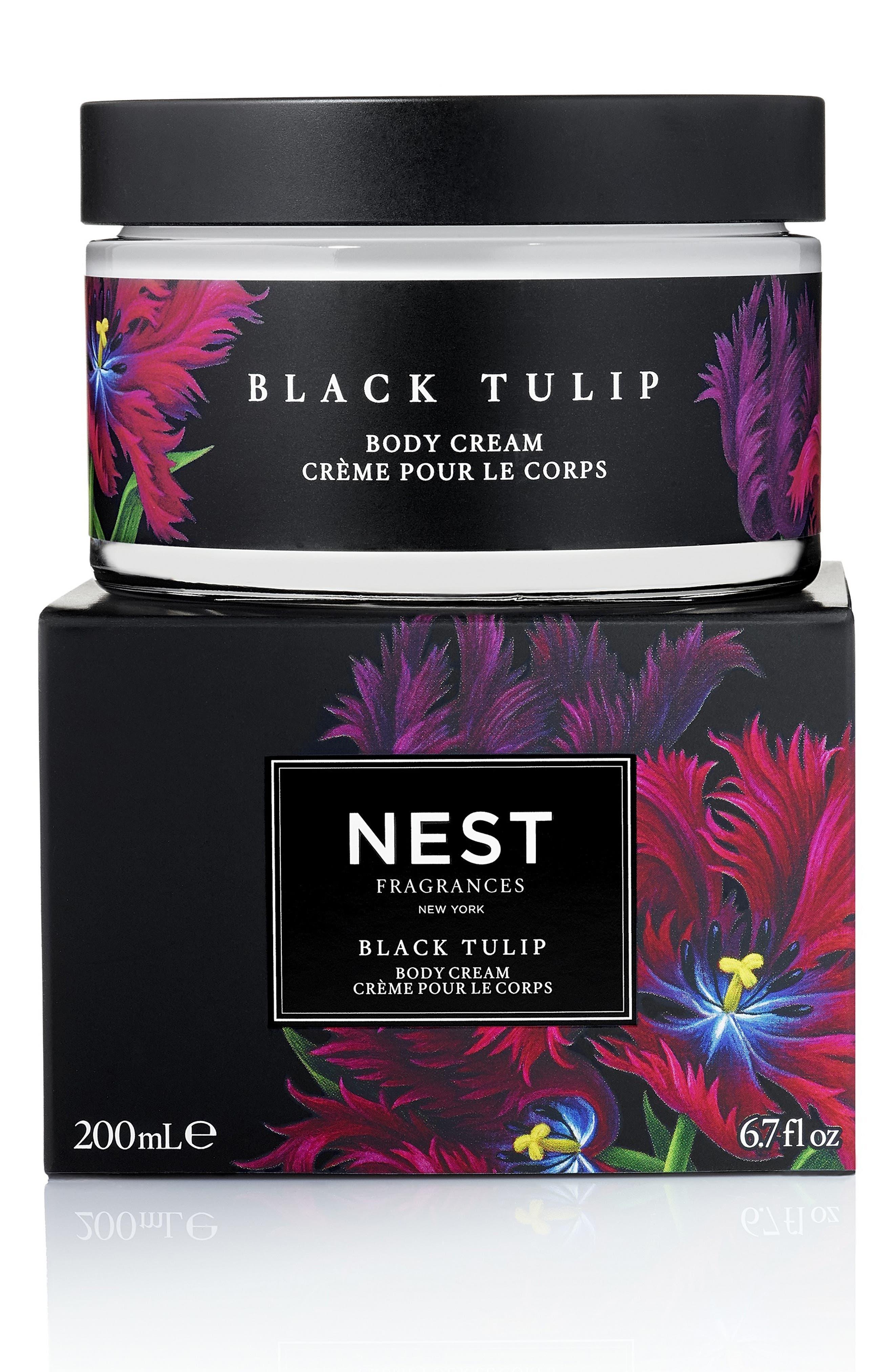 Black Tulip Body Cream, Main, color, NO COLOR
