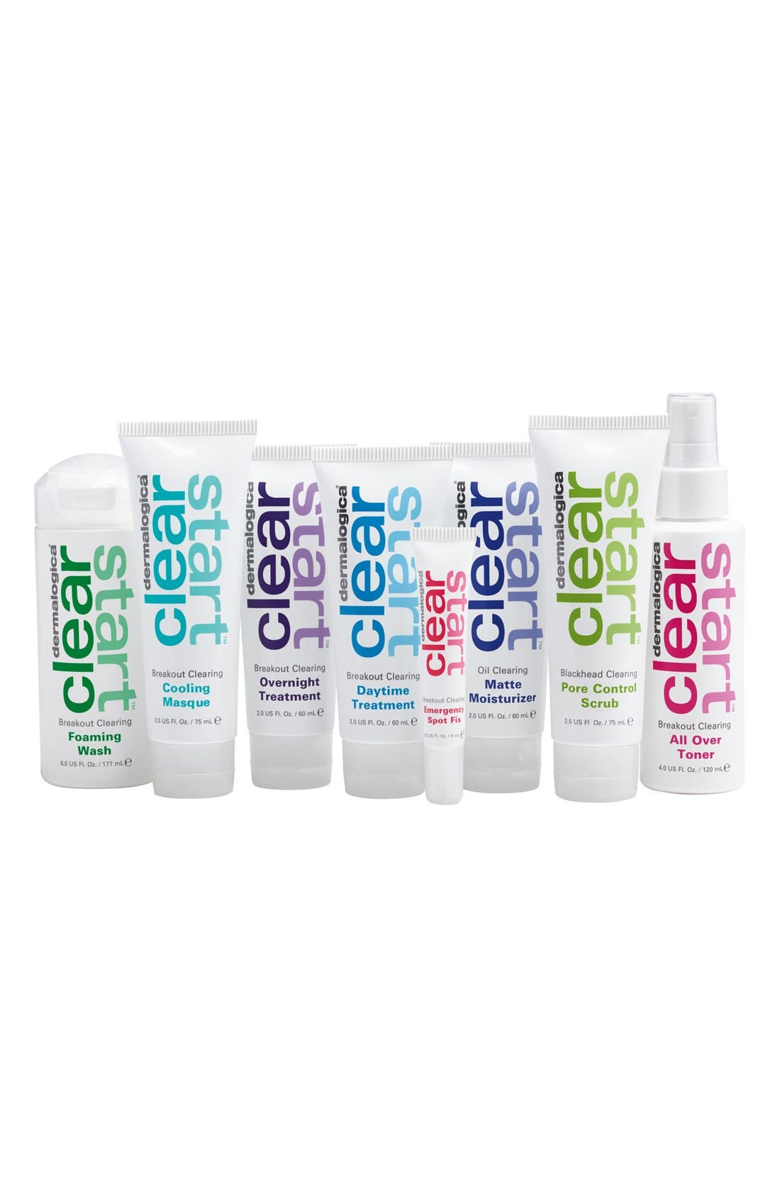 DERMALOGICA,                              'Clear Start<sup>™</sup>' Breakout Clearing Kit,                             Main thumbnail 1, color,                             000