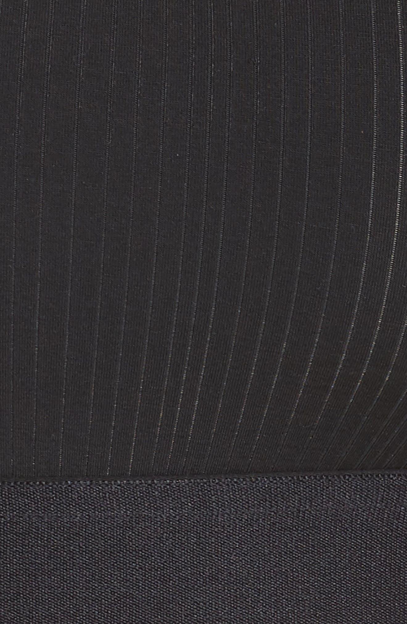 NEGATIVE UNDERWEAR,                             Whipped Bralette,                             Alternate thumbnail 5, color,                             BLACK