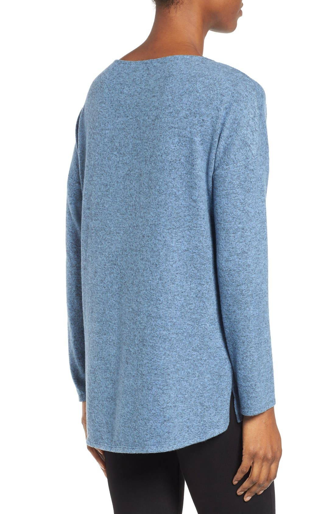 Cozy Ballet Neck High/Low Pullover,                             Alternate thumbnail 66, color,