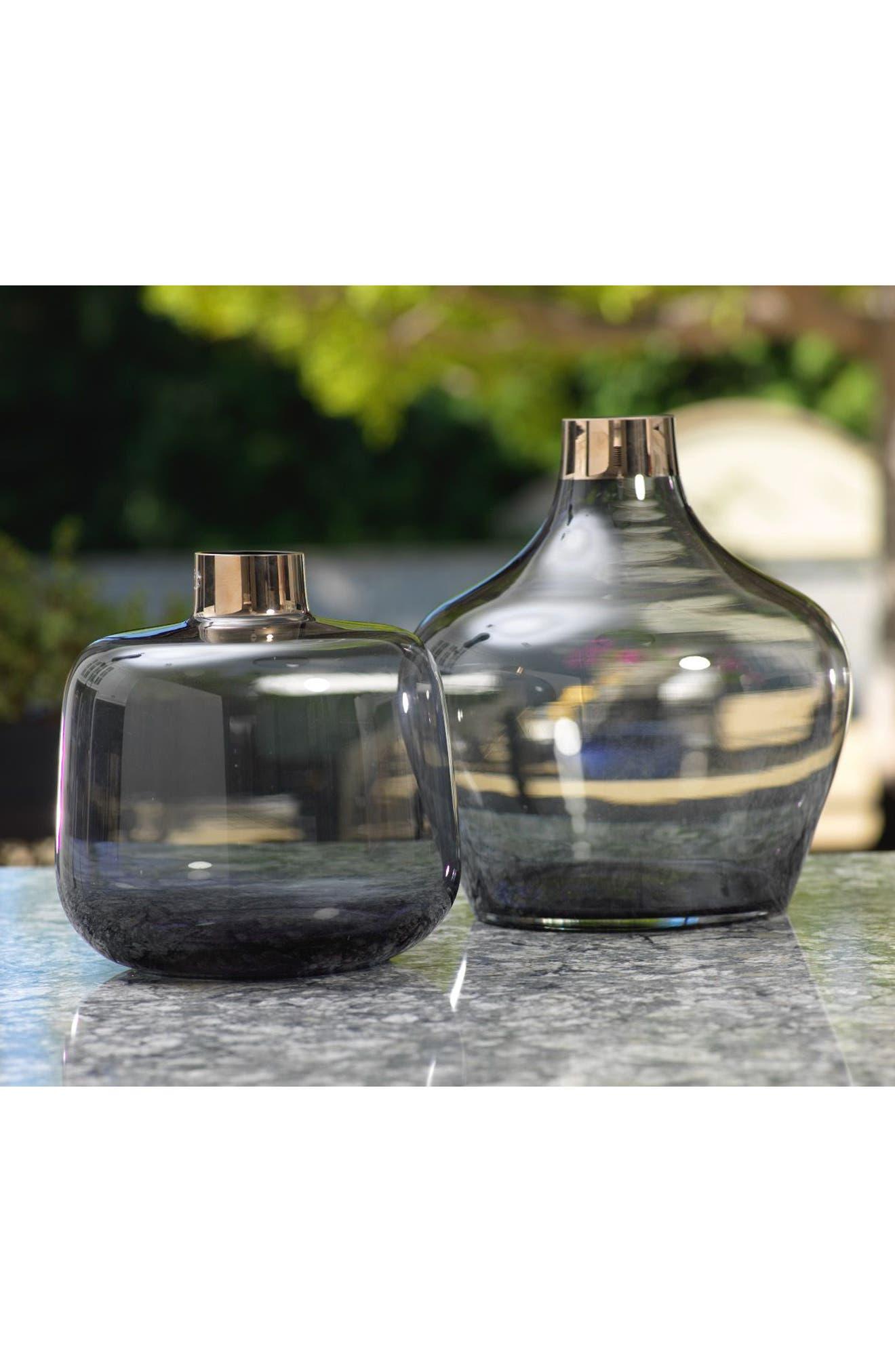 Capo Glass Vase,                             Alternate thumbnail 2, color,                             100