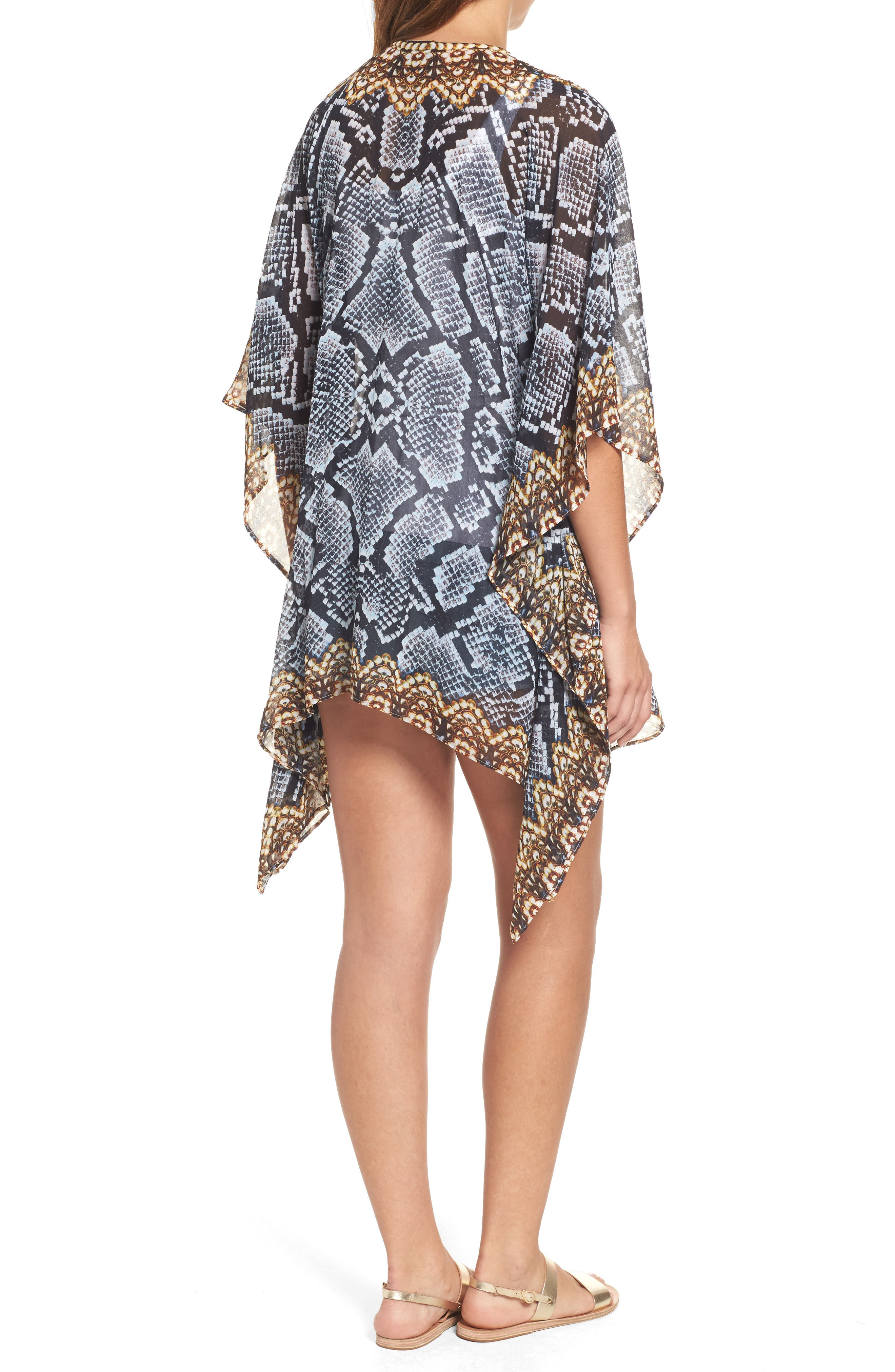 Shiraz Short Kaftan,                             Alternate thumbnail 2, color,                             039