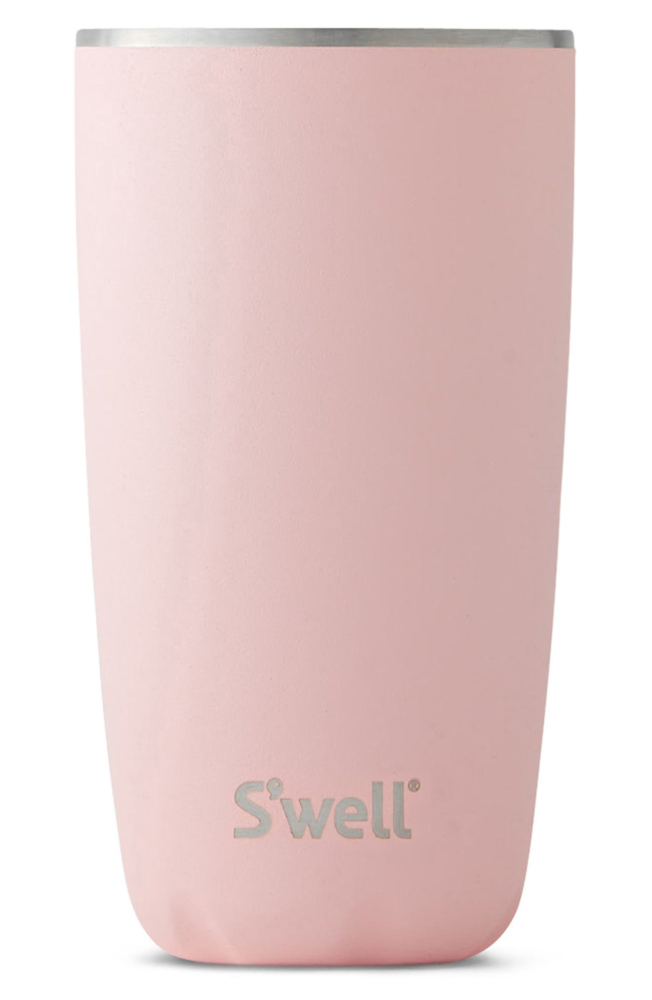 Swell Pink Topaz 18-Ounce Insulated Tumbler,                             Main thumbnail 1, color,                             PINK TOPAZ