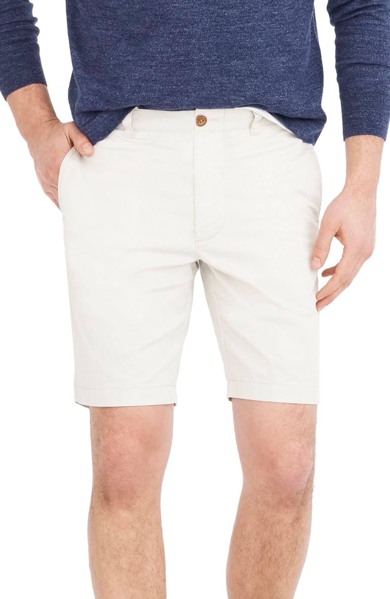 Stretch Chino Shorts,                         Main,                         color, STONE