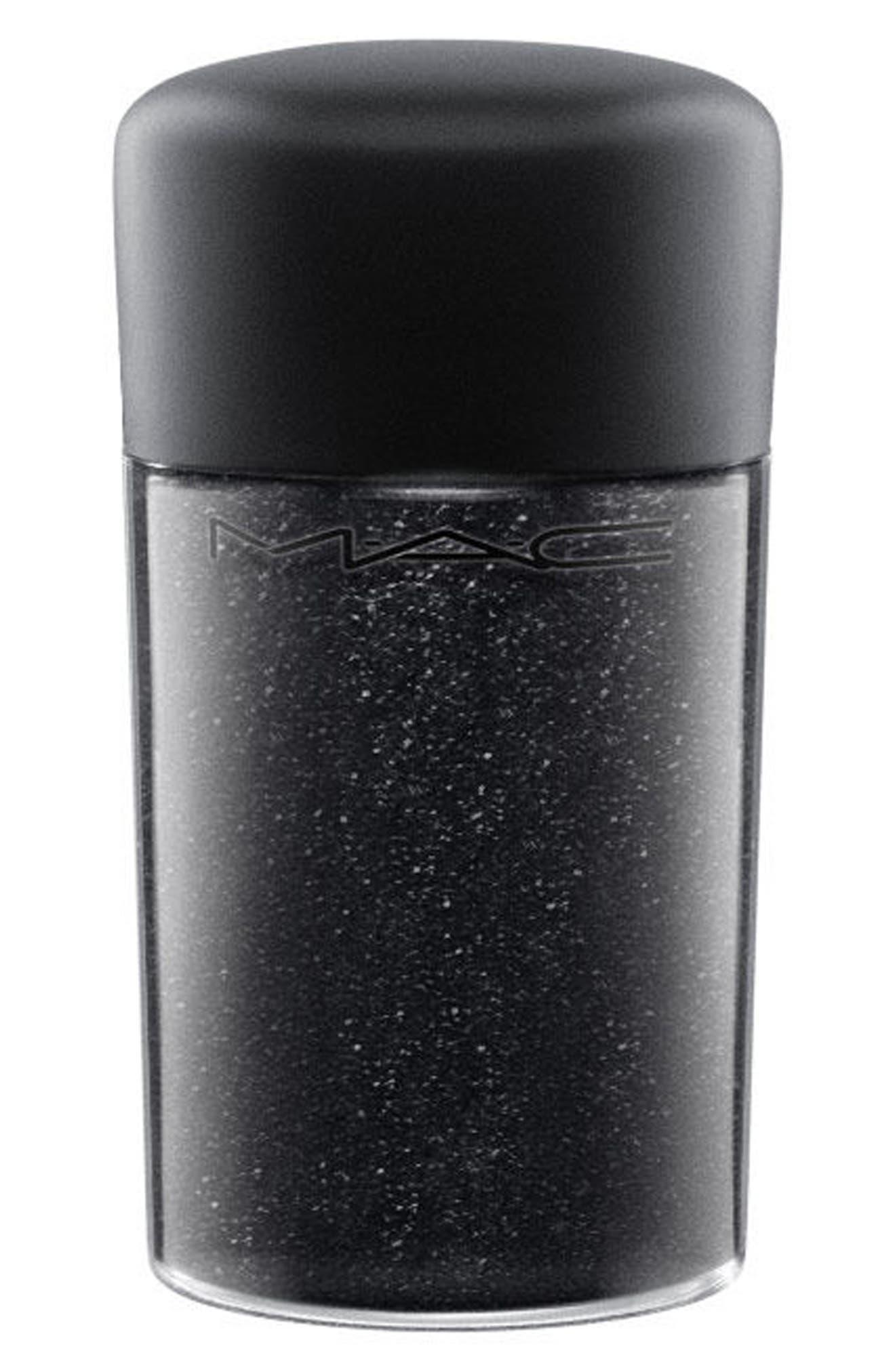 MAC COSMETICS MAC Glitter, Main, color, BLACK