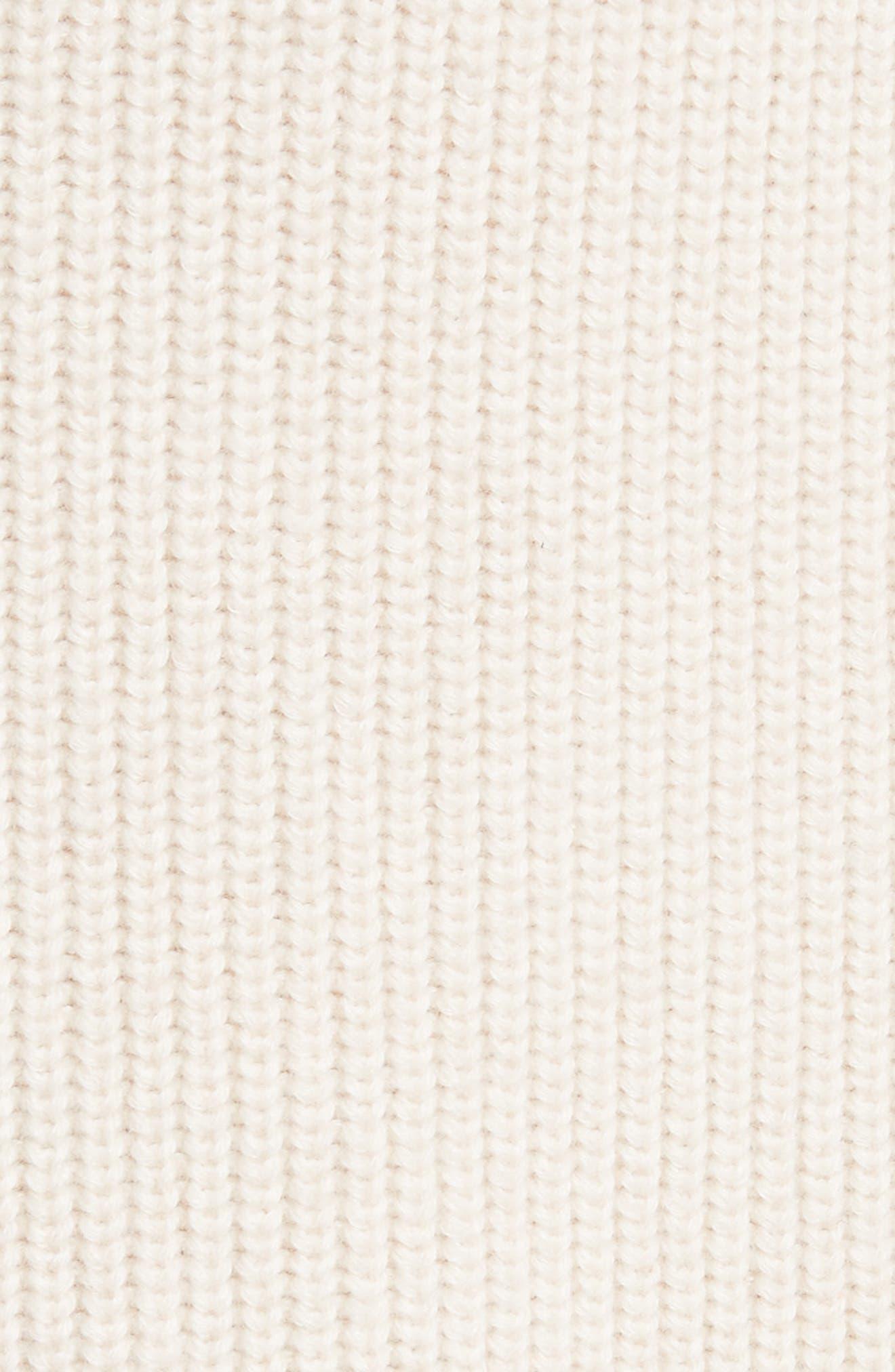 Cotton & Cashmere Cardigan,                             Alternate thumbnail 5, color,