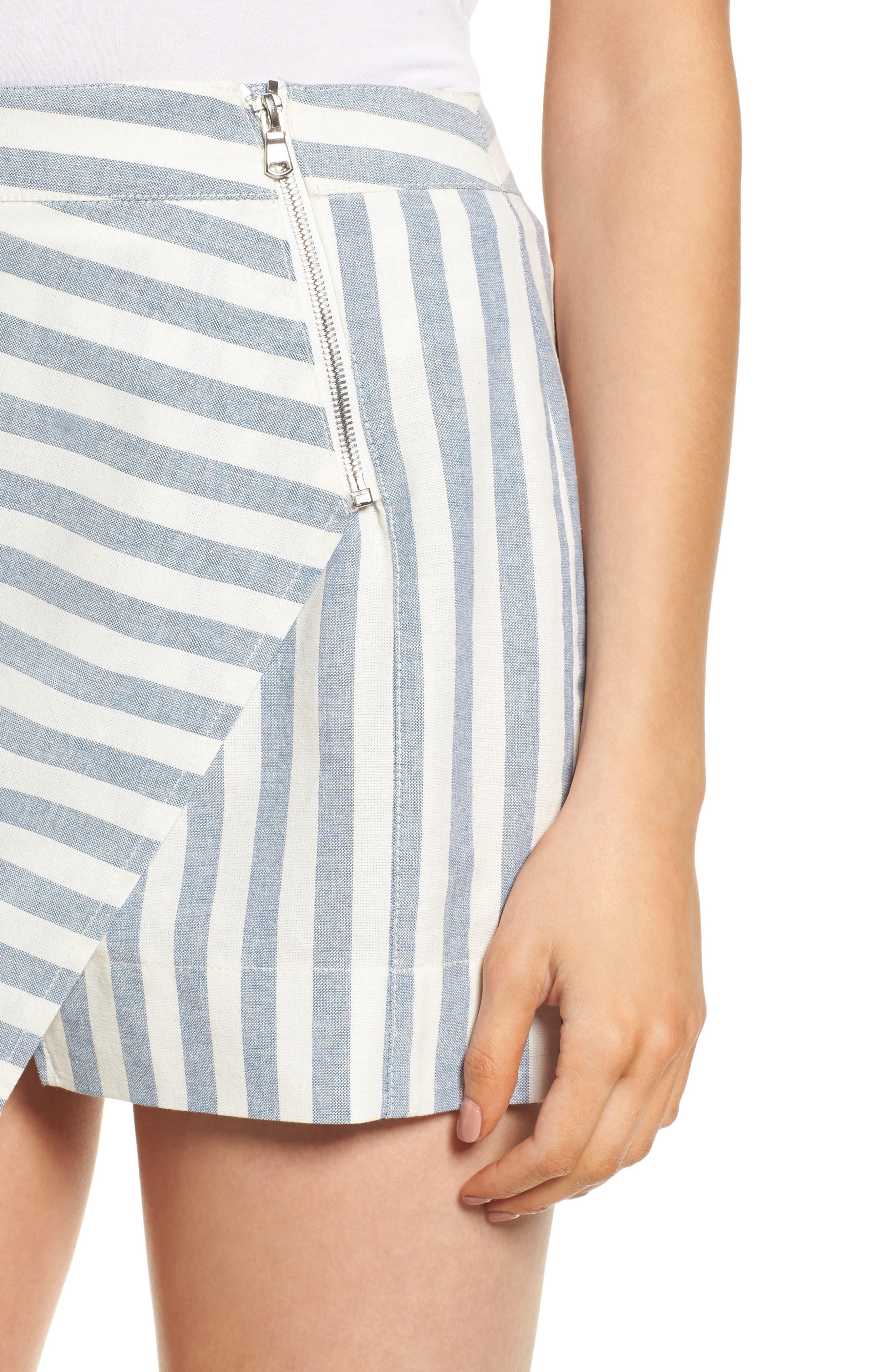 Gigi Wrap Skirt,                             Alternate thumbnail 4, color,