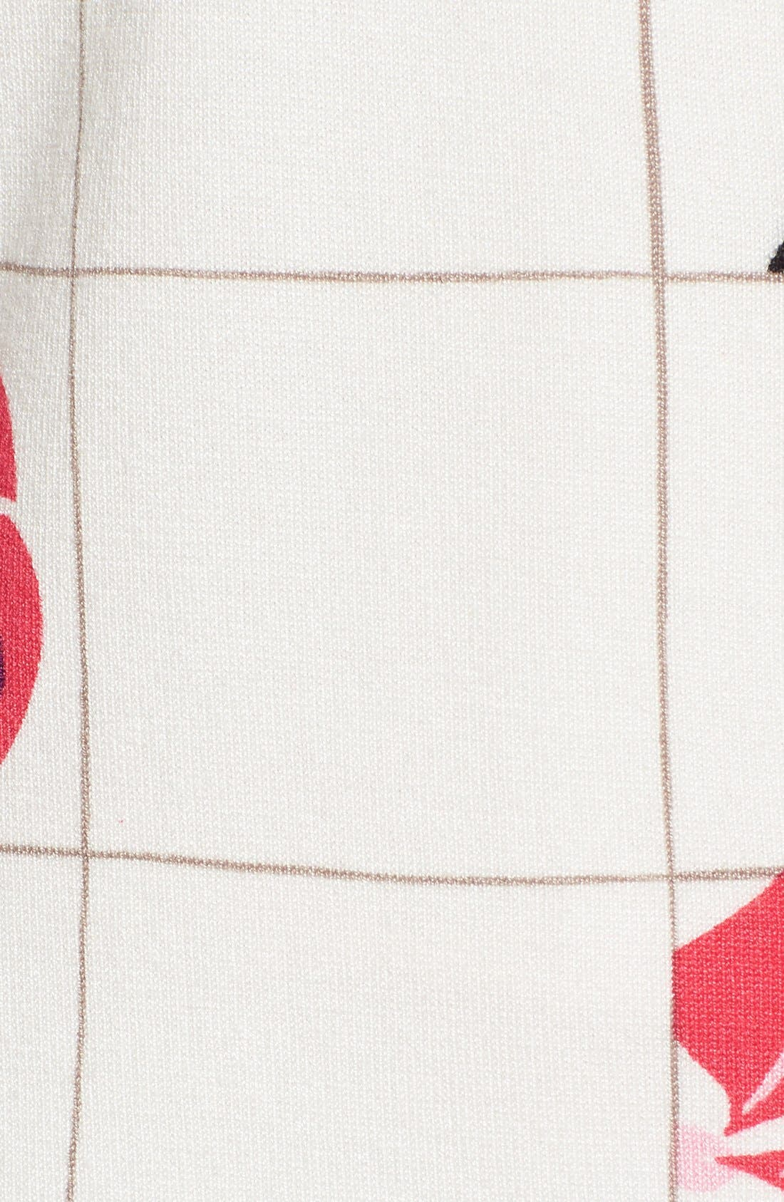 Three Quarter Sleeve Cardigan,                             Alternate thumbnail 183, color,