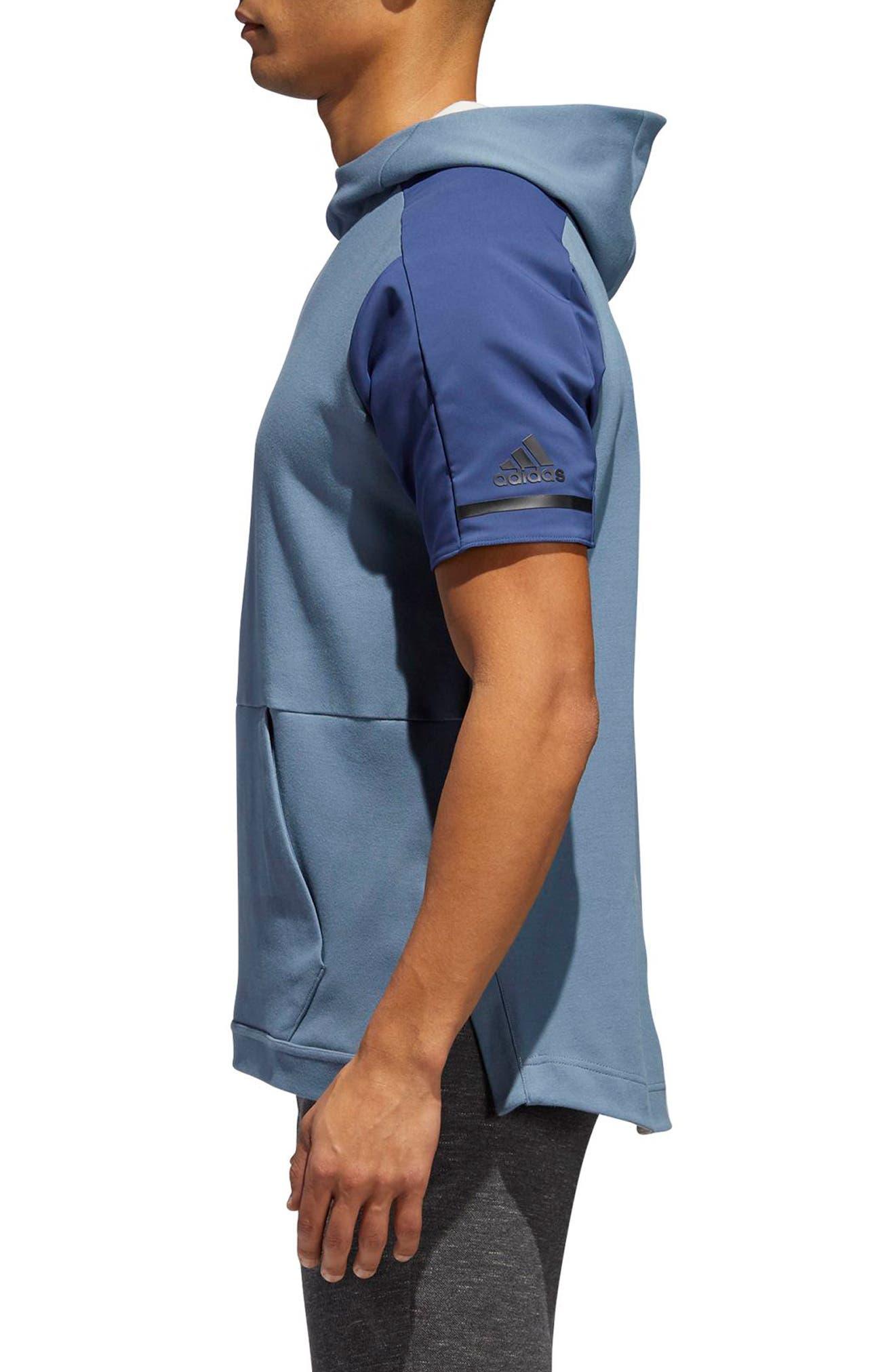 SQD Short Sleeve Hoodie,                             Alternate thumbnail 6, color,