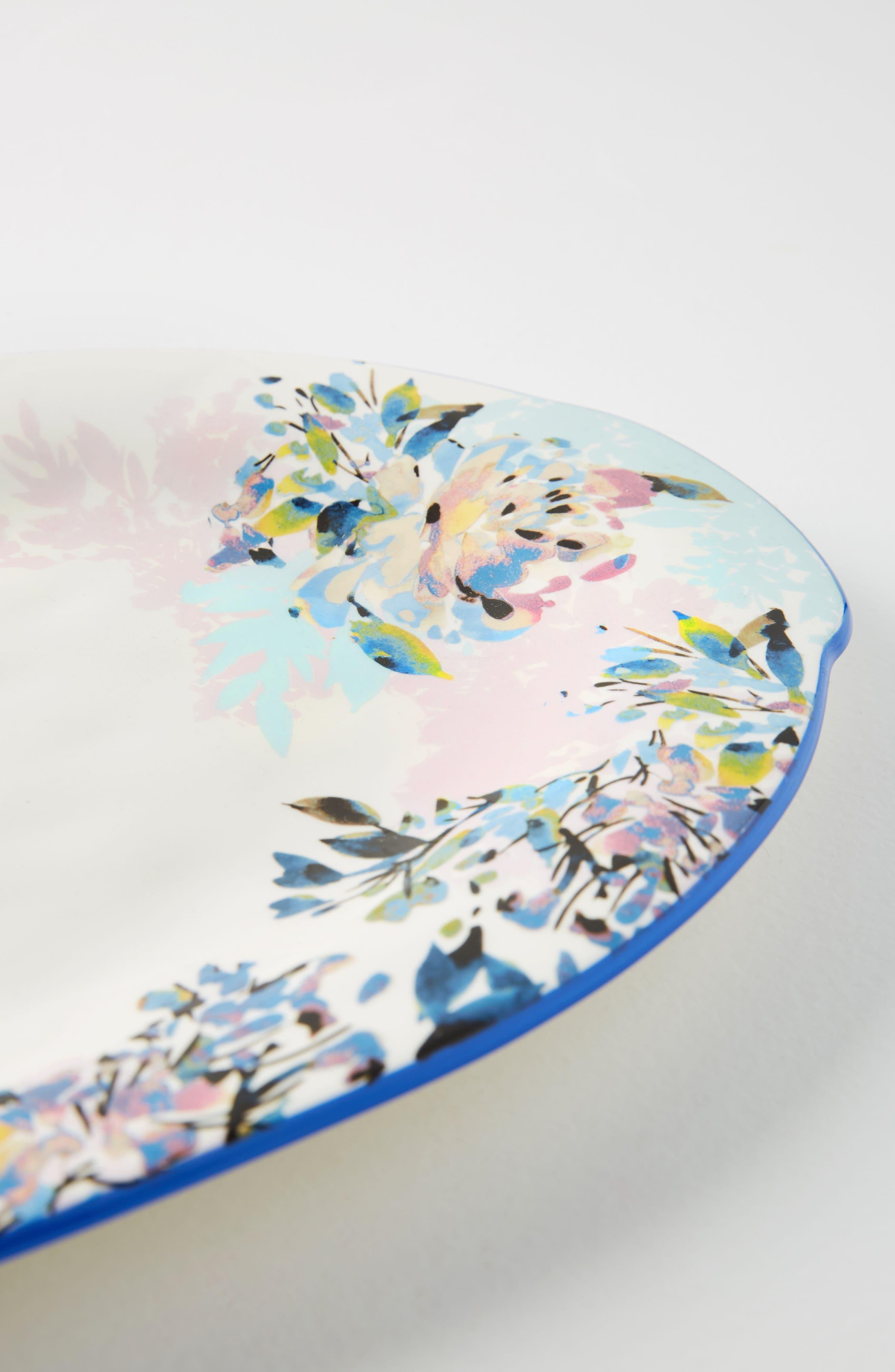 Gardenshire Earthenware Platter,                             Alternate thumbnail 2, color,                             400