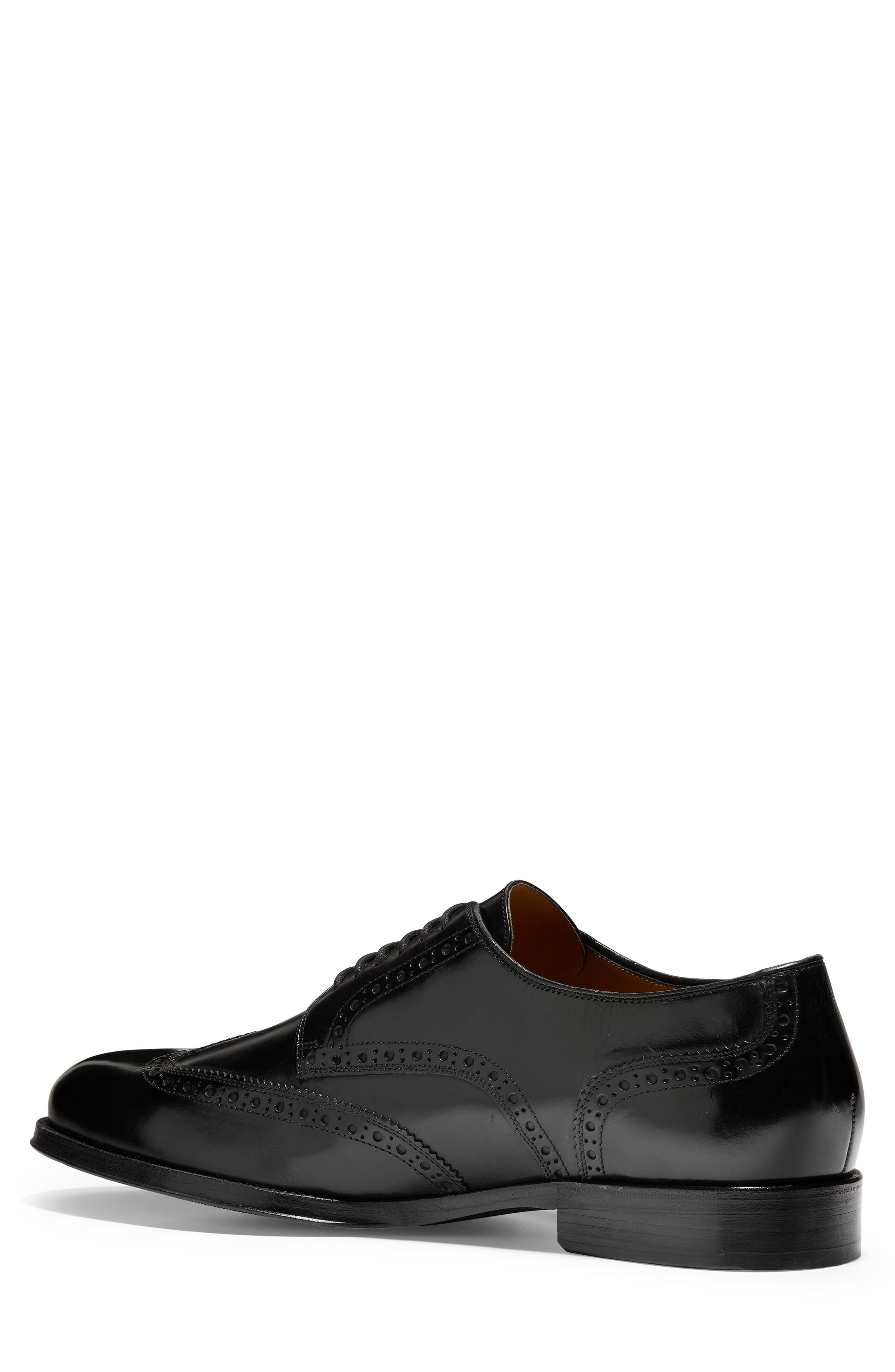 American Classics Grammercy Wingtip,                             Alternate thumbnail 2, color,                             BLACK LEATHER
