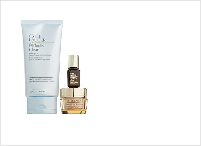 Estée Lauder gift with purchase.